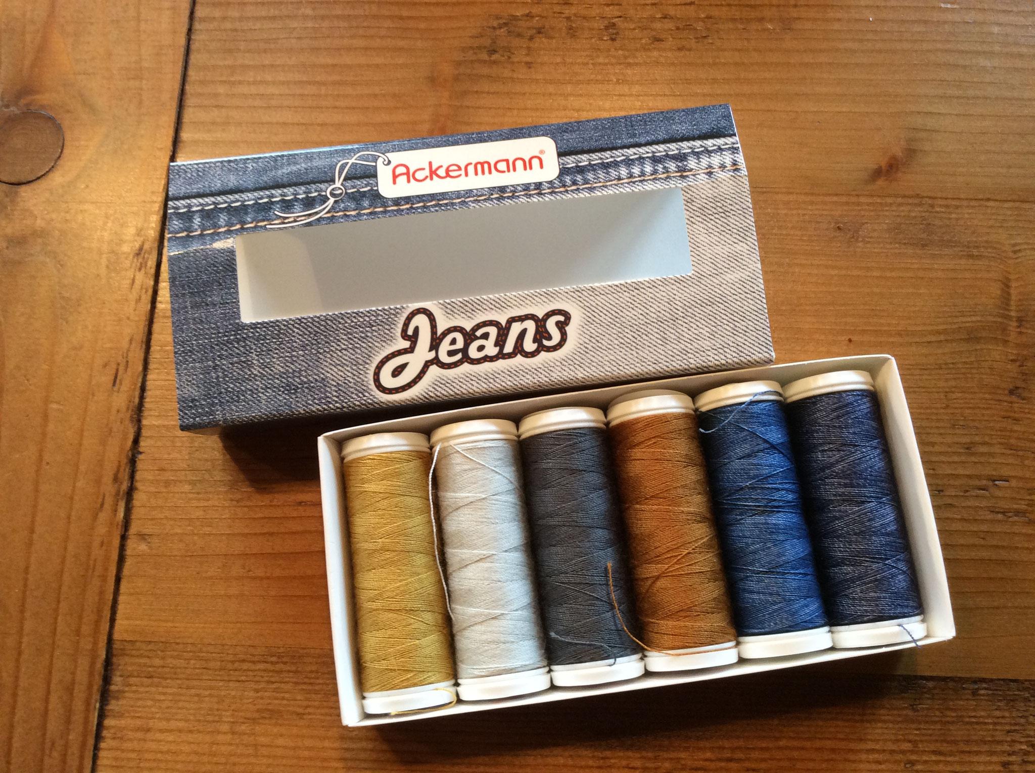 Jeansgarn von Ackermann