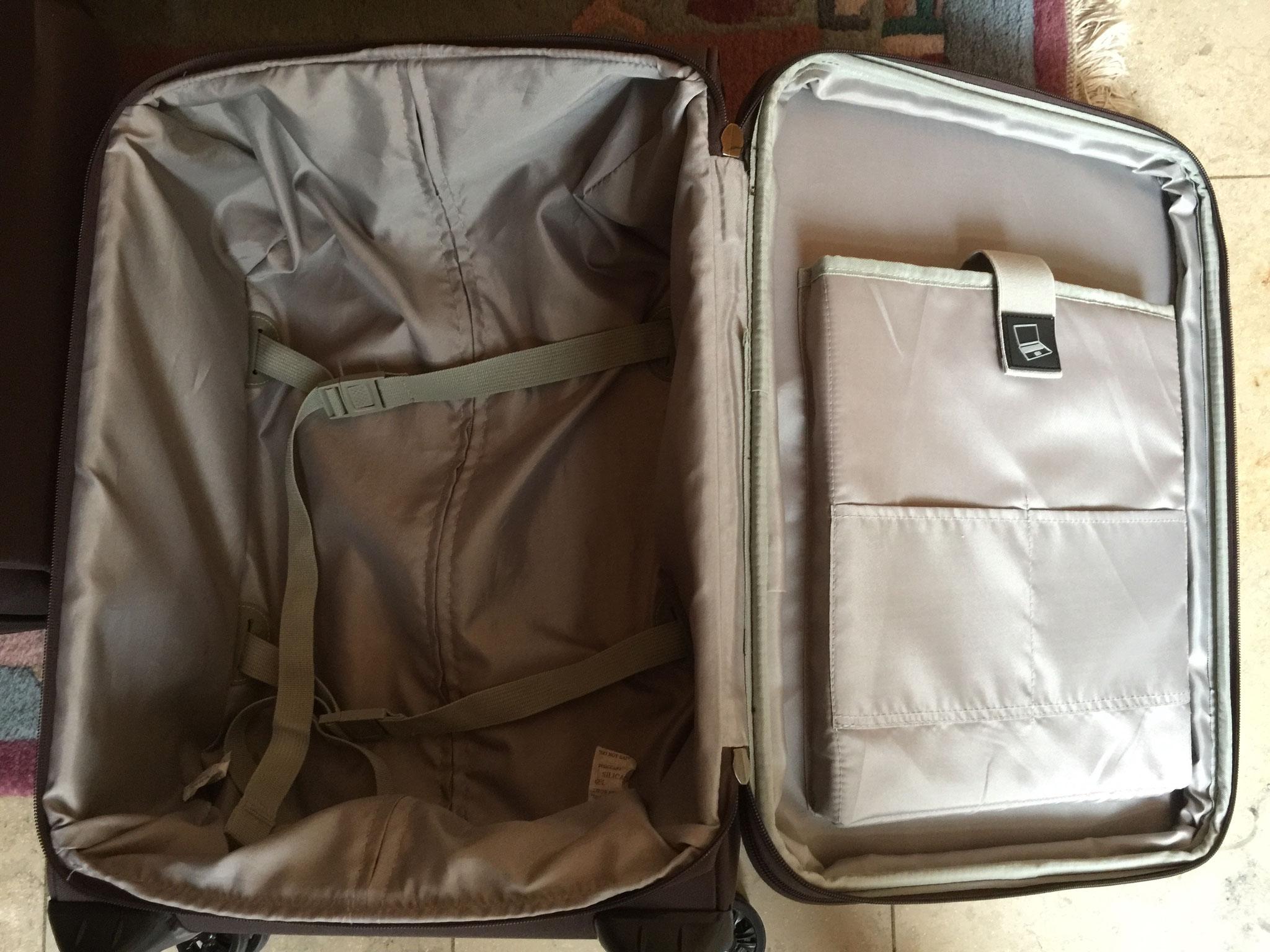 Kleiner Koffer mit Laptopfach