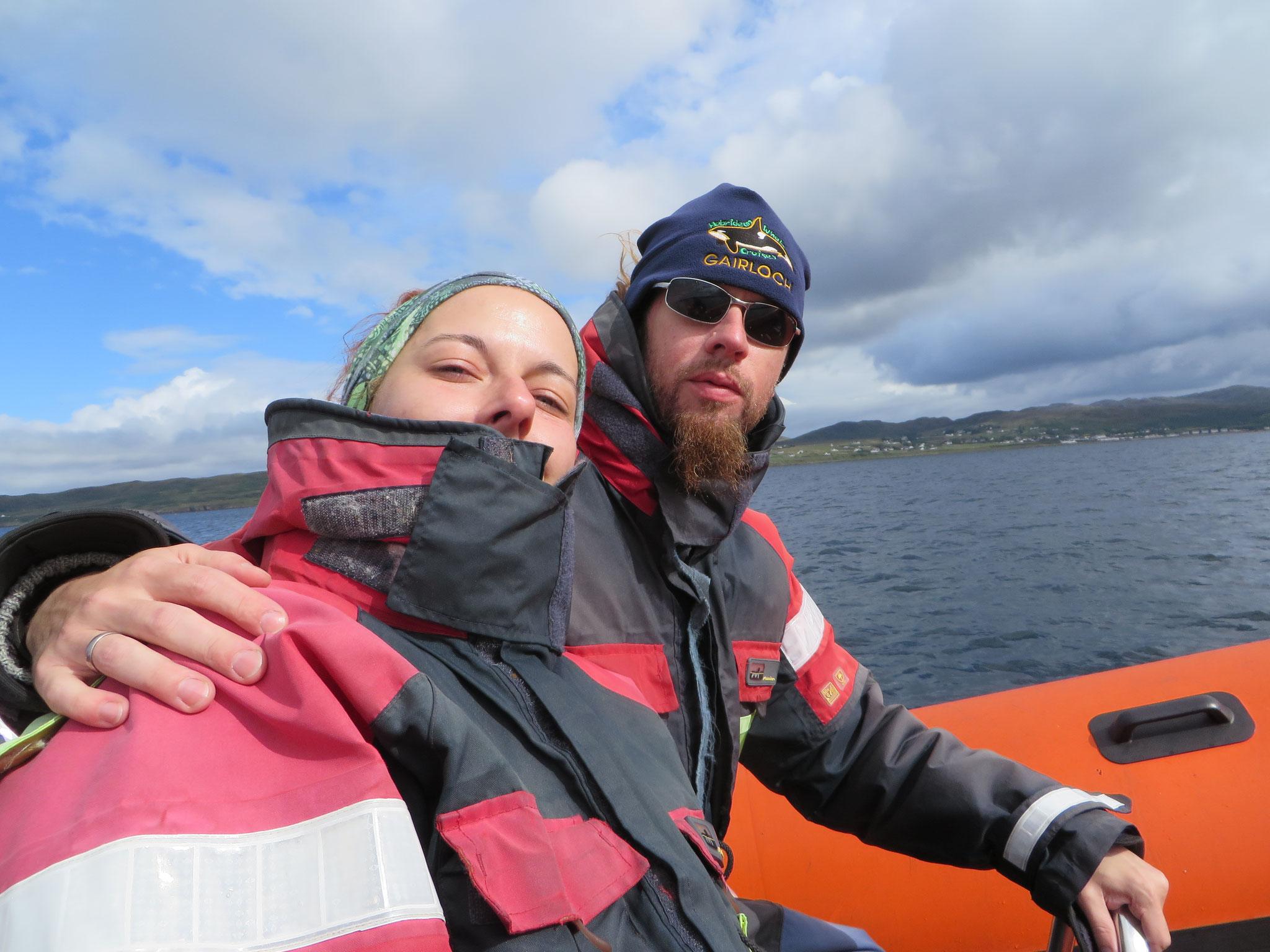 Whalewatching vor der schottischen Westküste