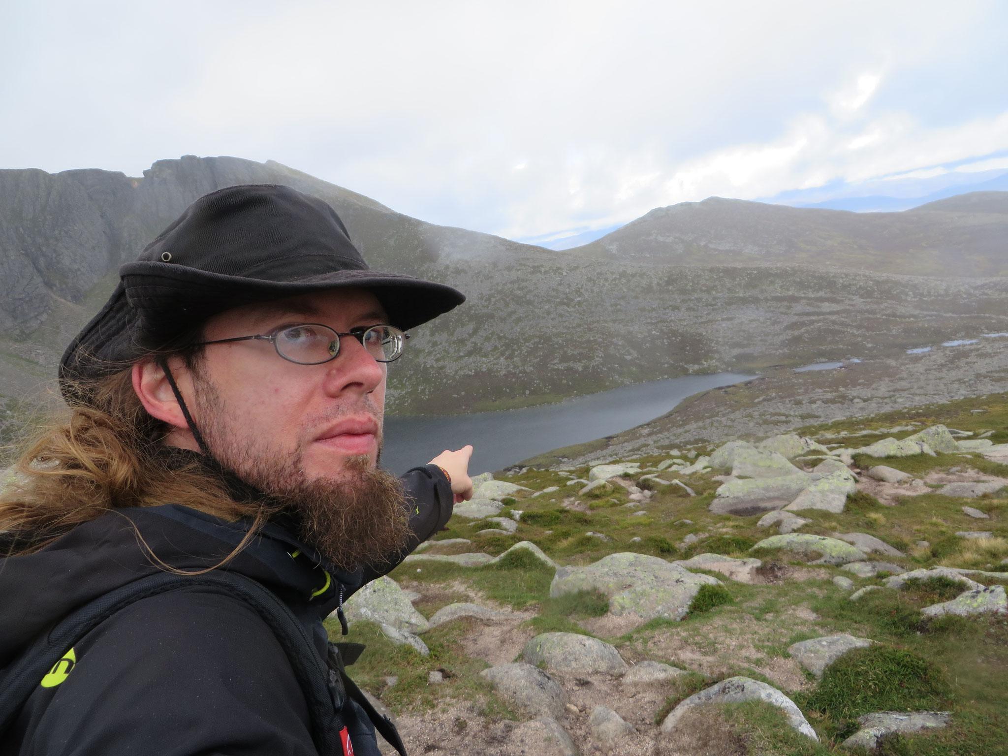 Der See ist erreicht - zum Gipfel wartete noch eine Gratwanderung.