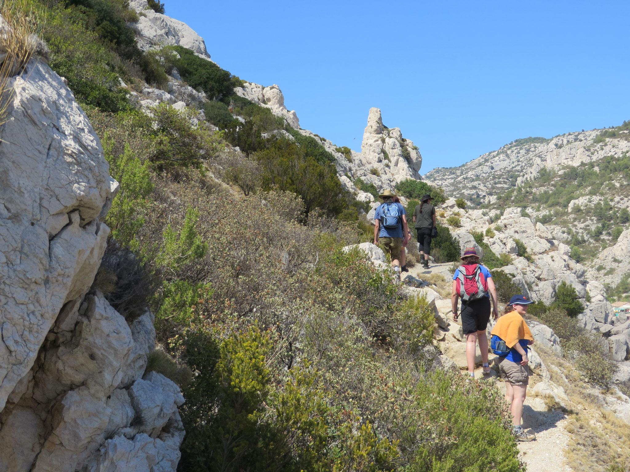 In Frankreich gibt es Wanderkarten im Maßstab 1:15.000 (2016)
