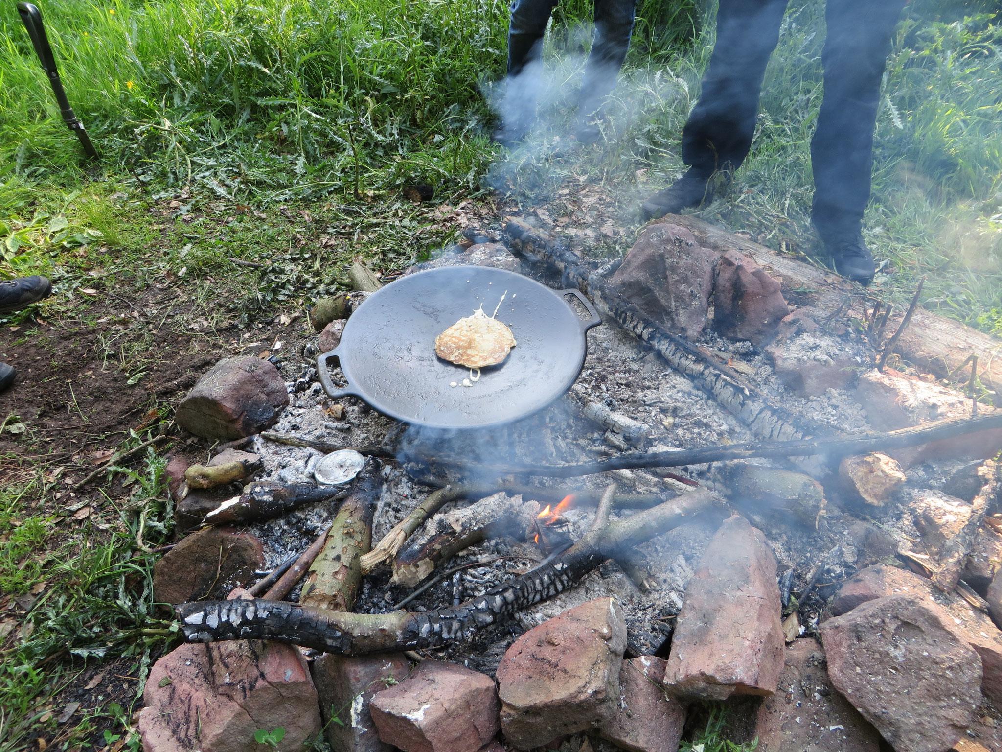 Apfelpfannkuchen von der Muurikka.