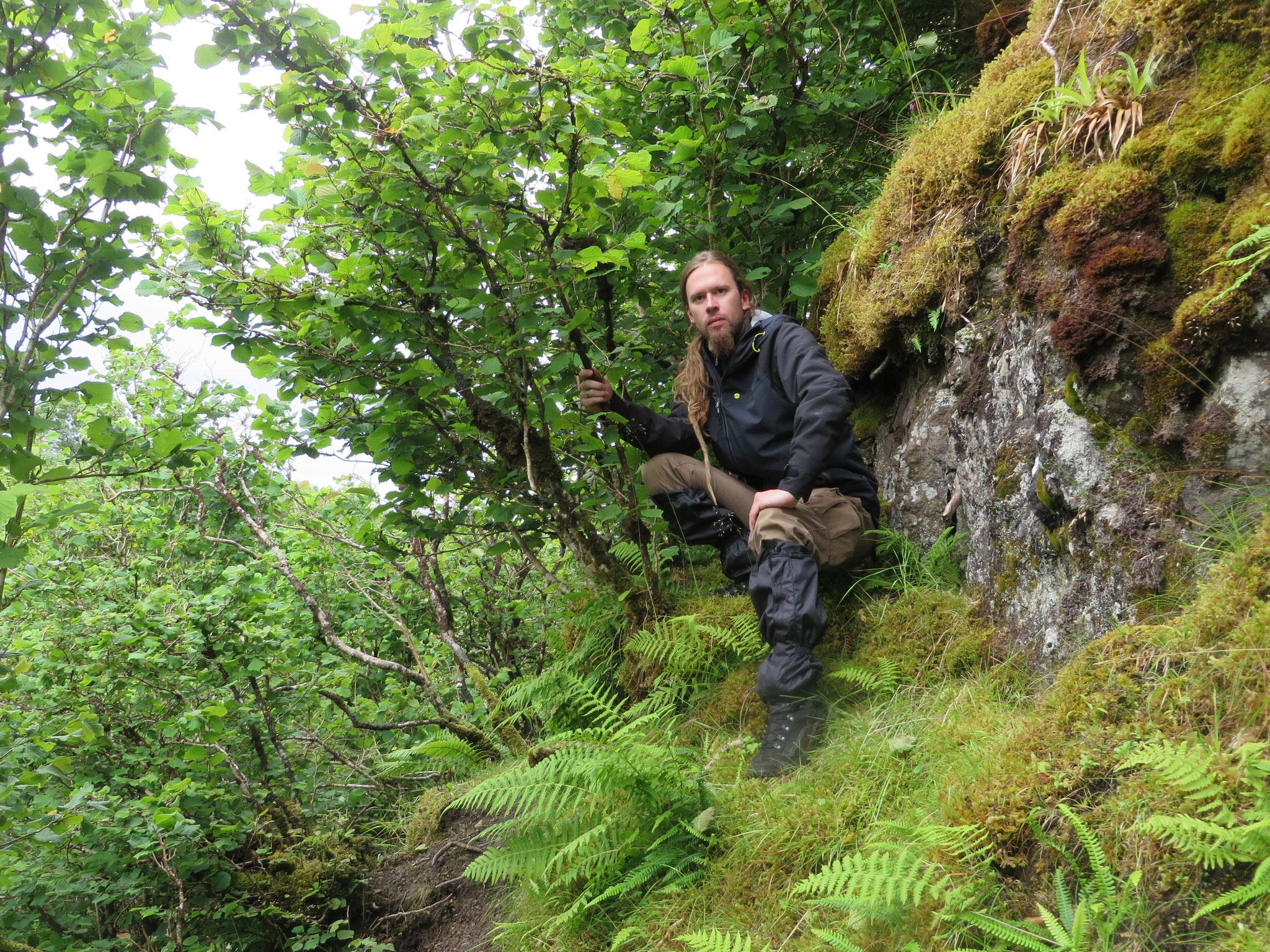 In einem namenlosen Canyon auf der Isle of Skye 2015