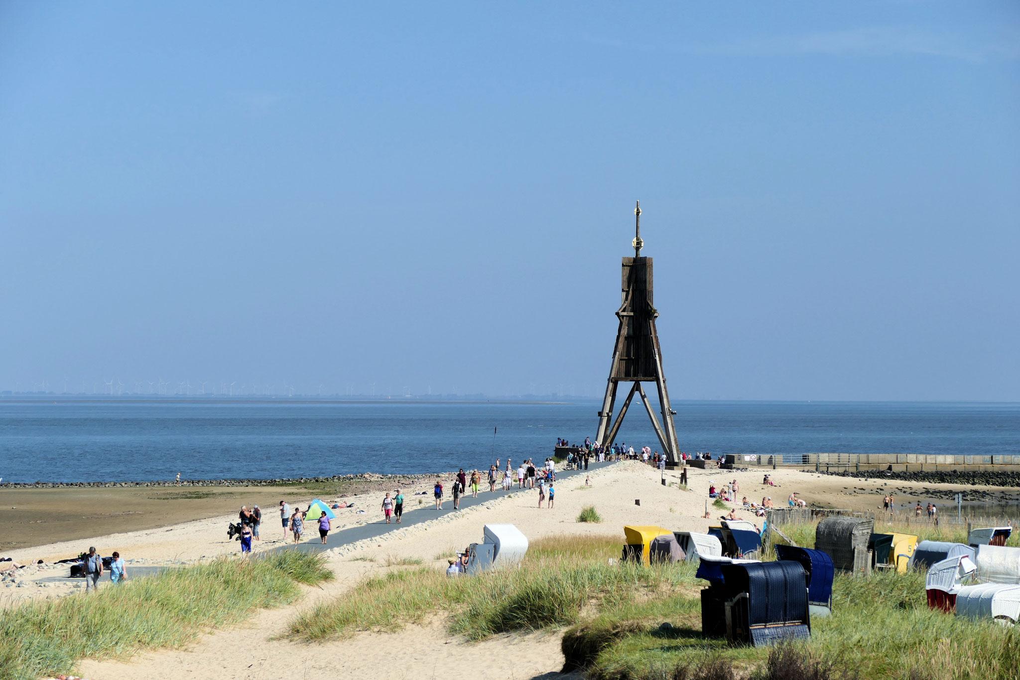 Strand an der Kugelbake in Döse