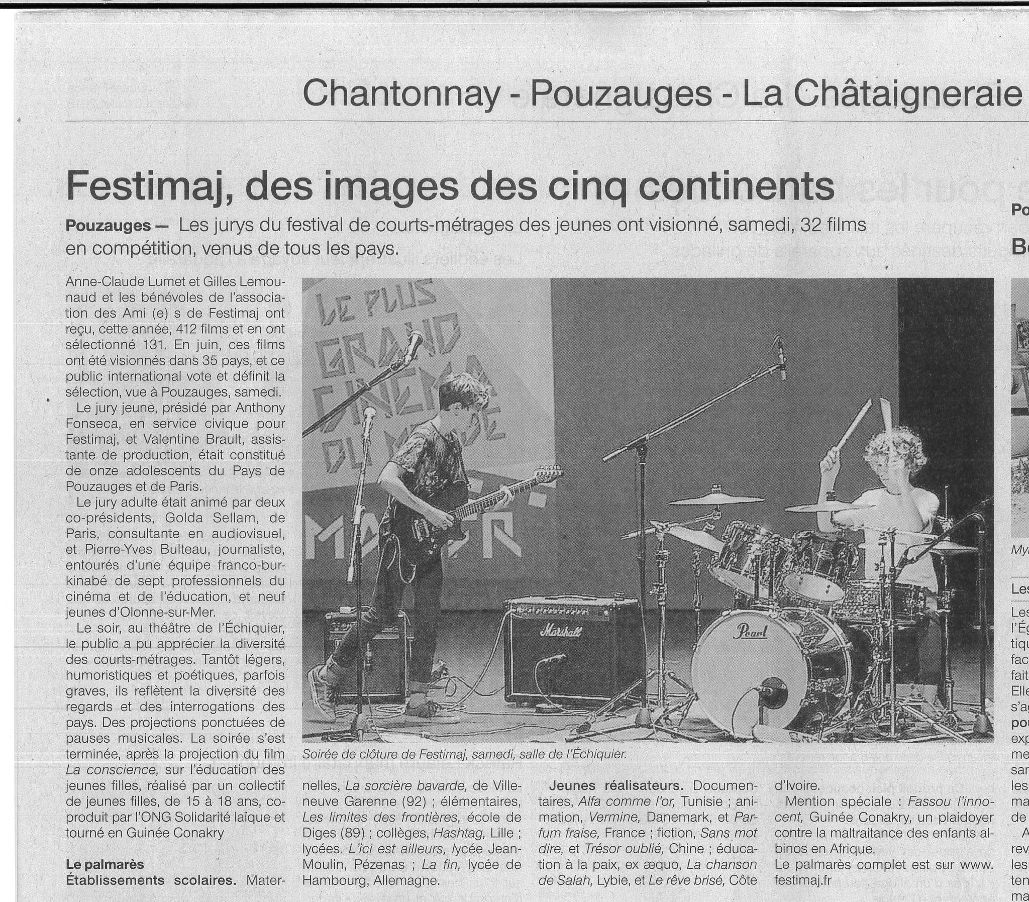 Clôture Festimaj OF 06/07/2018