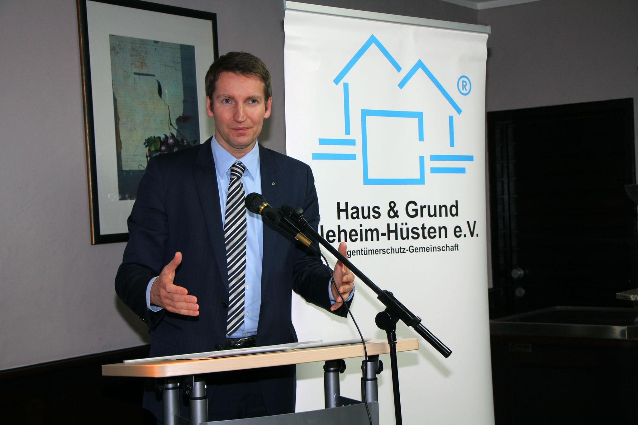 Patrick Sensburg, Mitglied des Bundestages der CDU