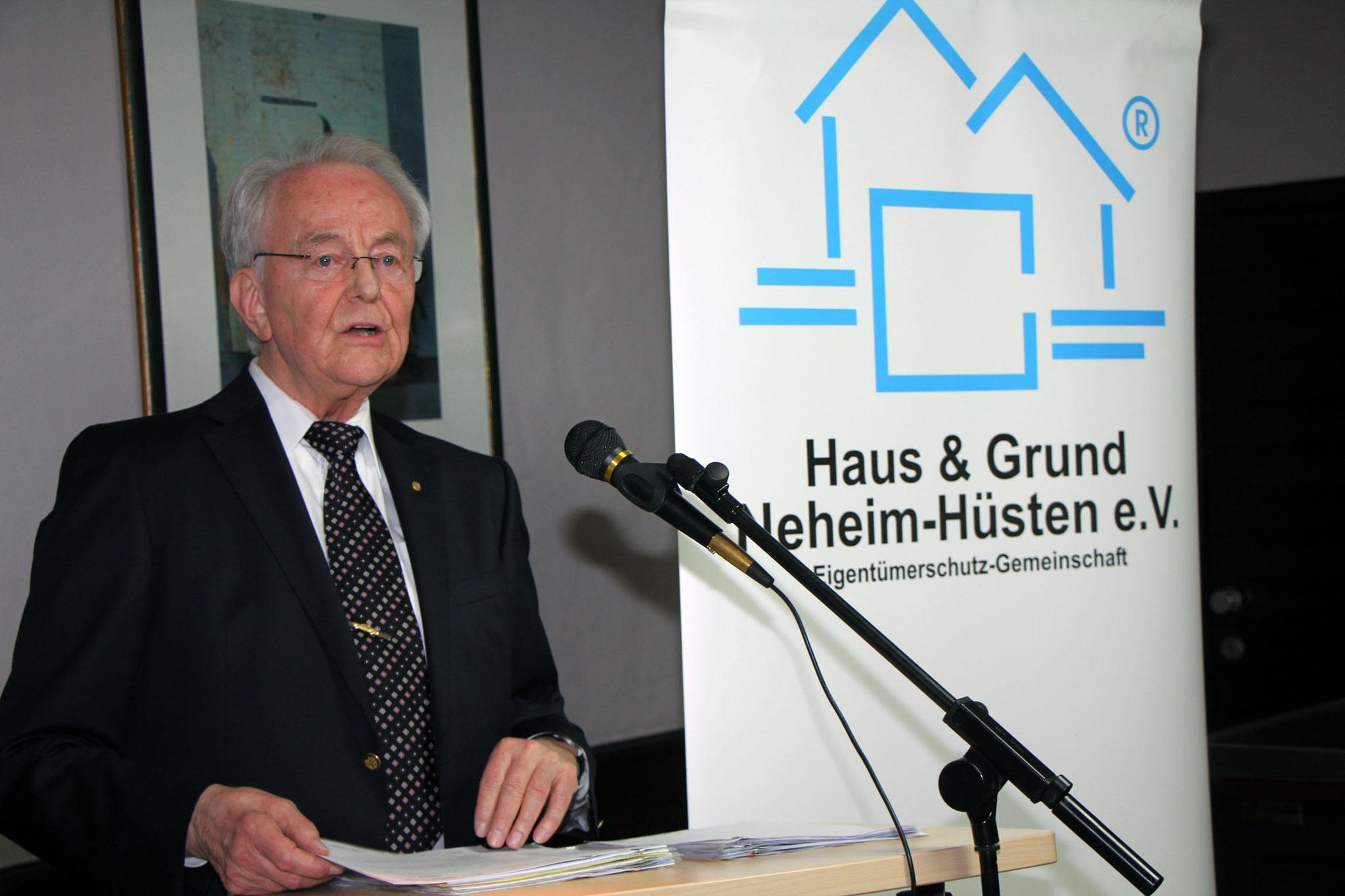 Gerd Schulte 1. Vorsitzende