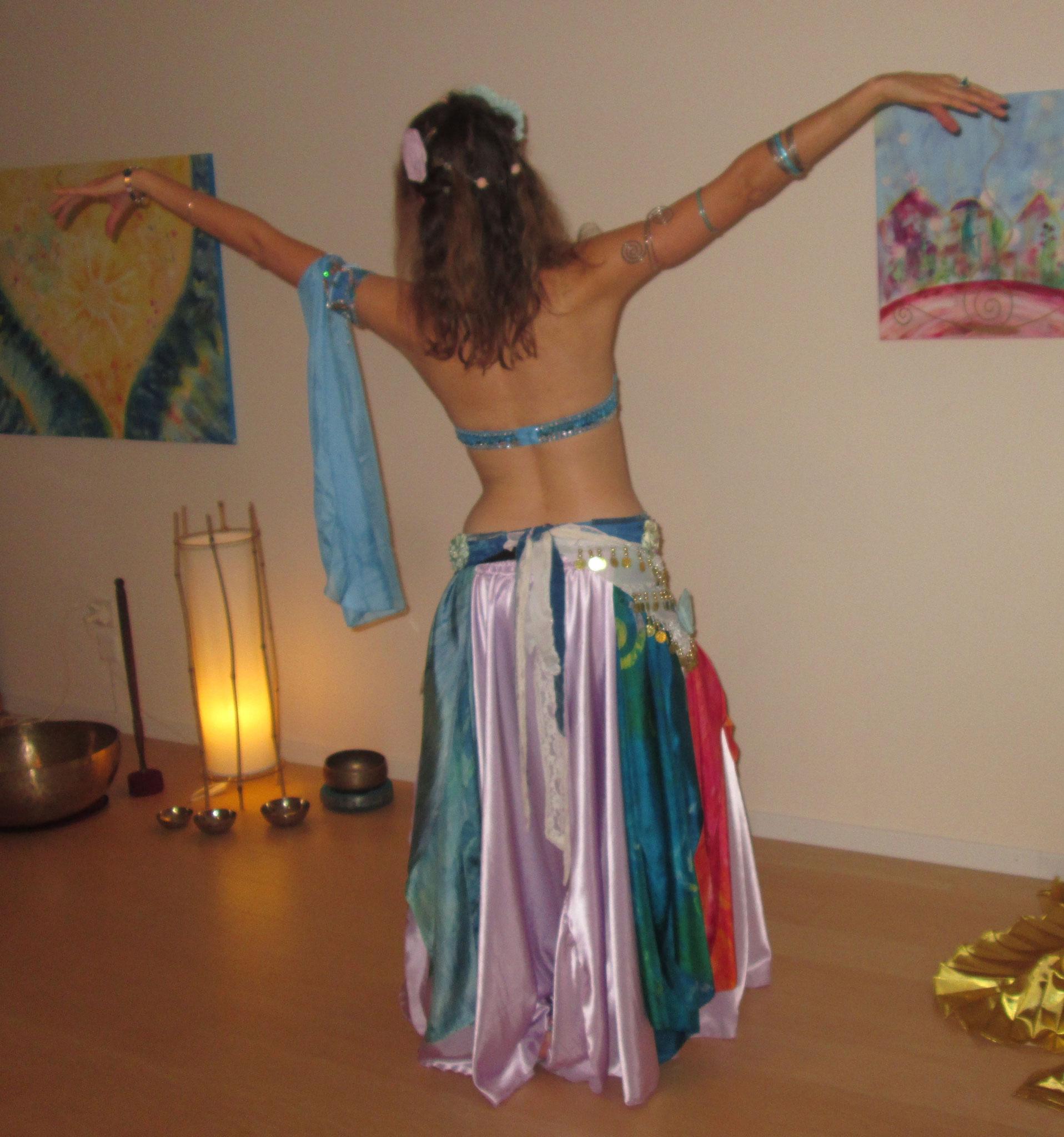 Bauchtanz-Kleid