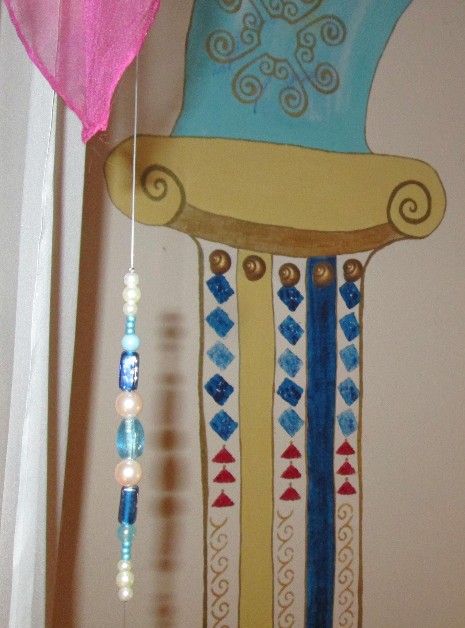 Orientalische Ornamente an der Wand in meiner Wohnung...