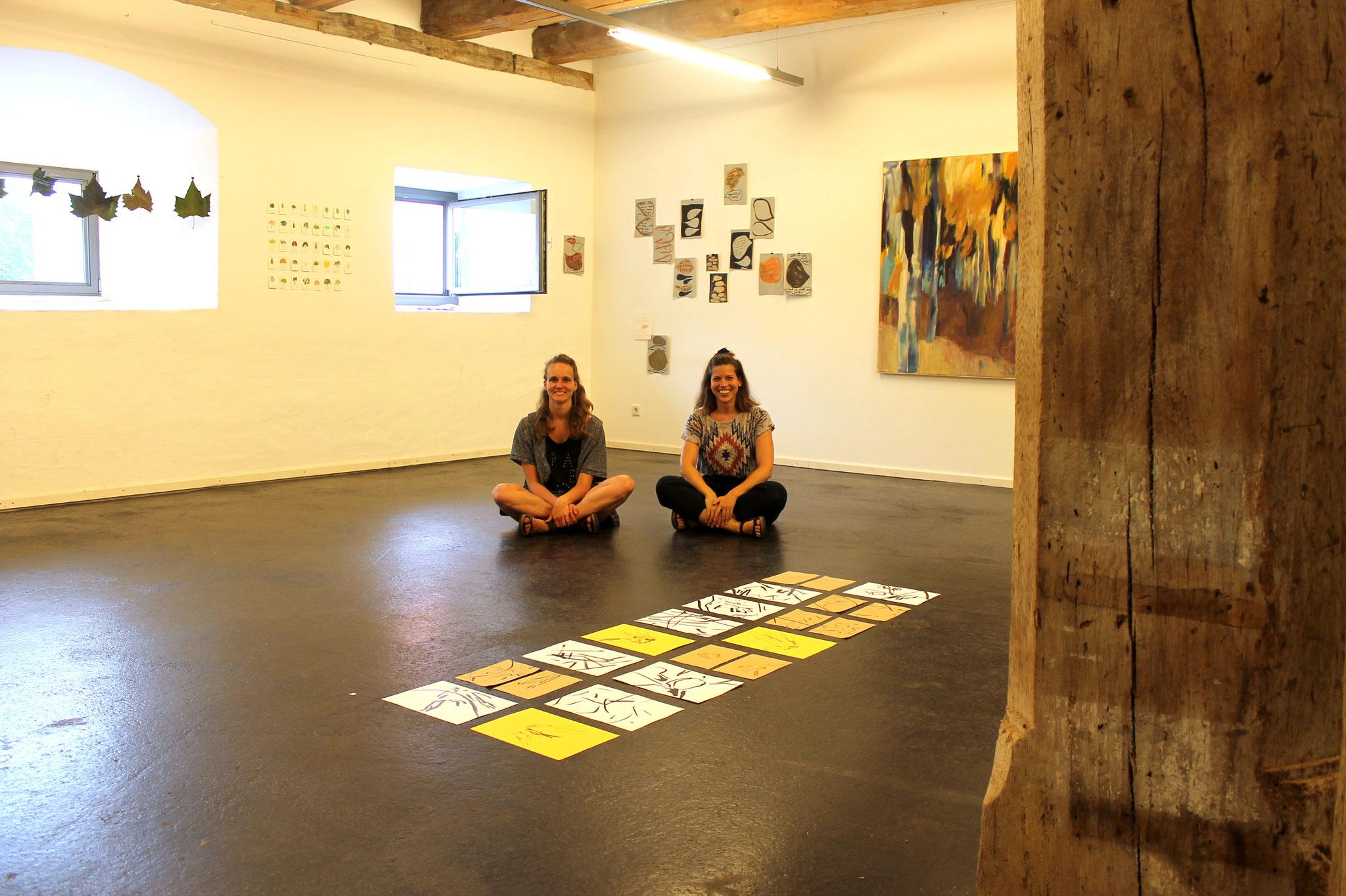 Tanja Riebel und Luzie Gerb