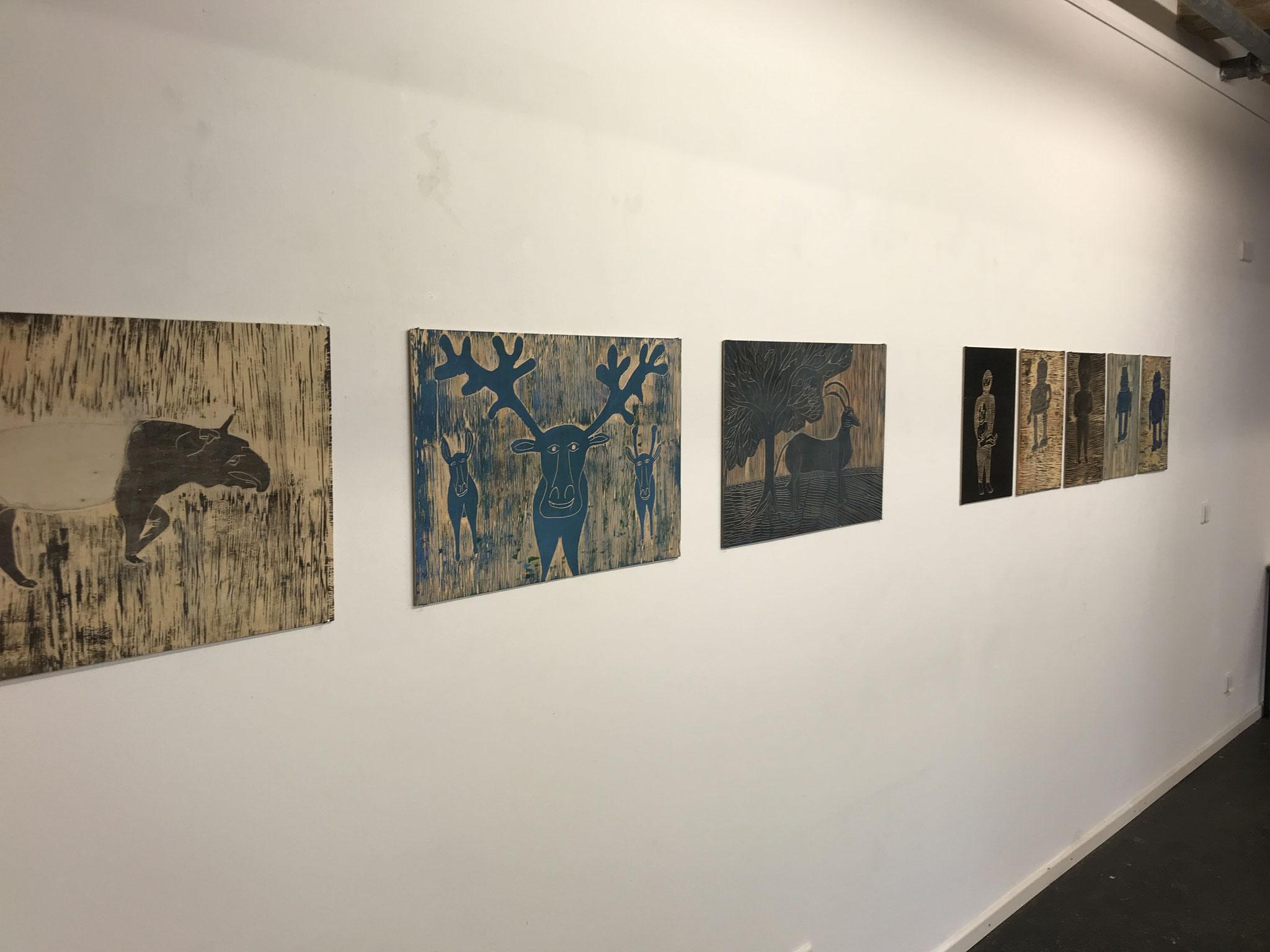 Atelier Kunst inklusiv Kurt Sennebogen