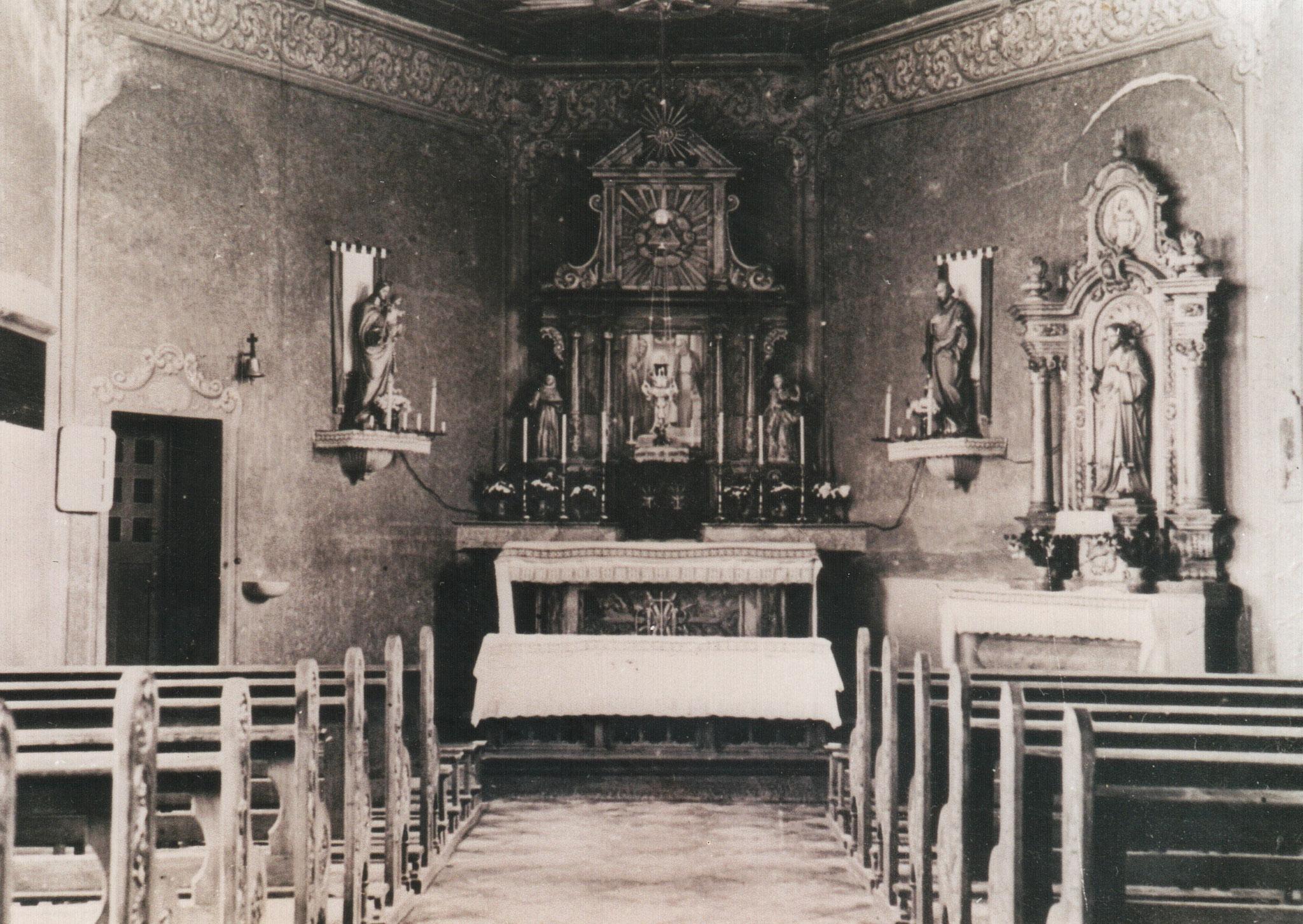 Innenraum Kapelle von 1854