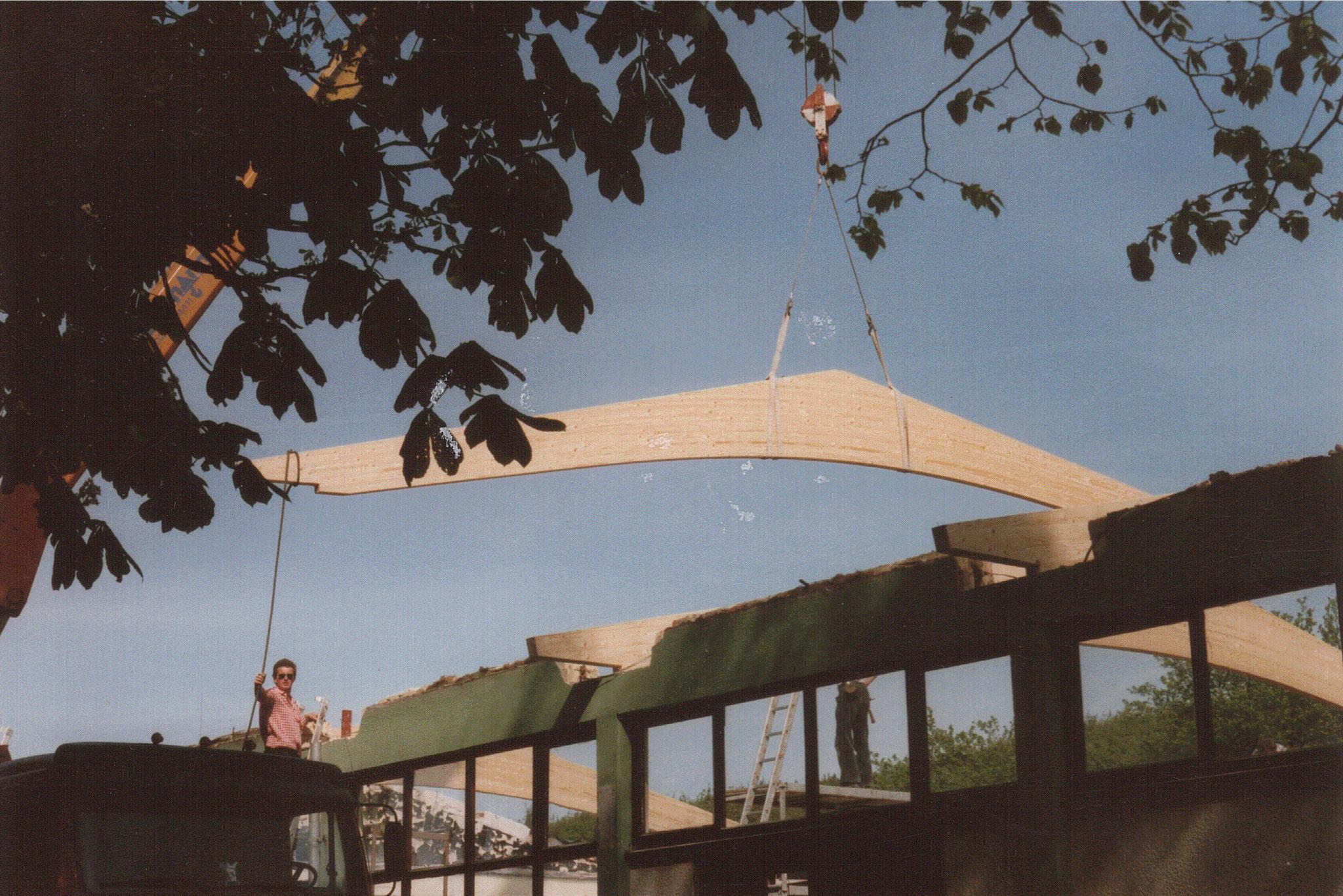 Dacherneuerung 1989