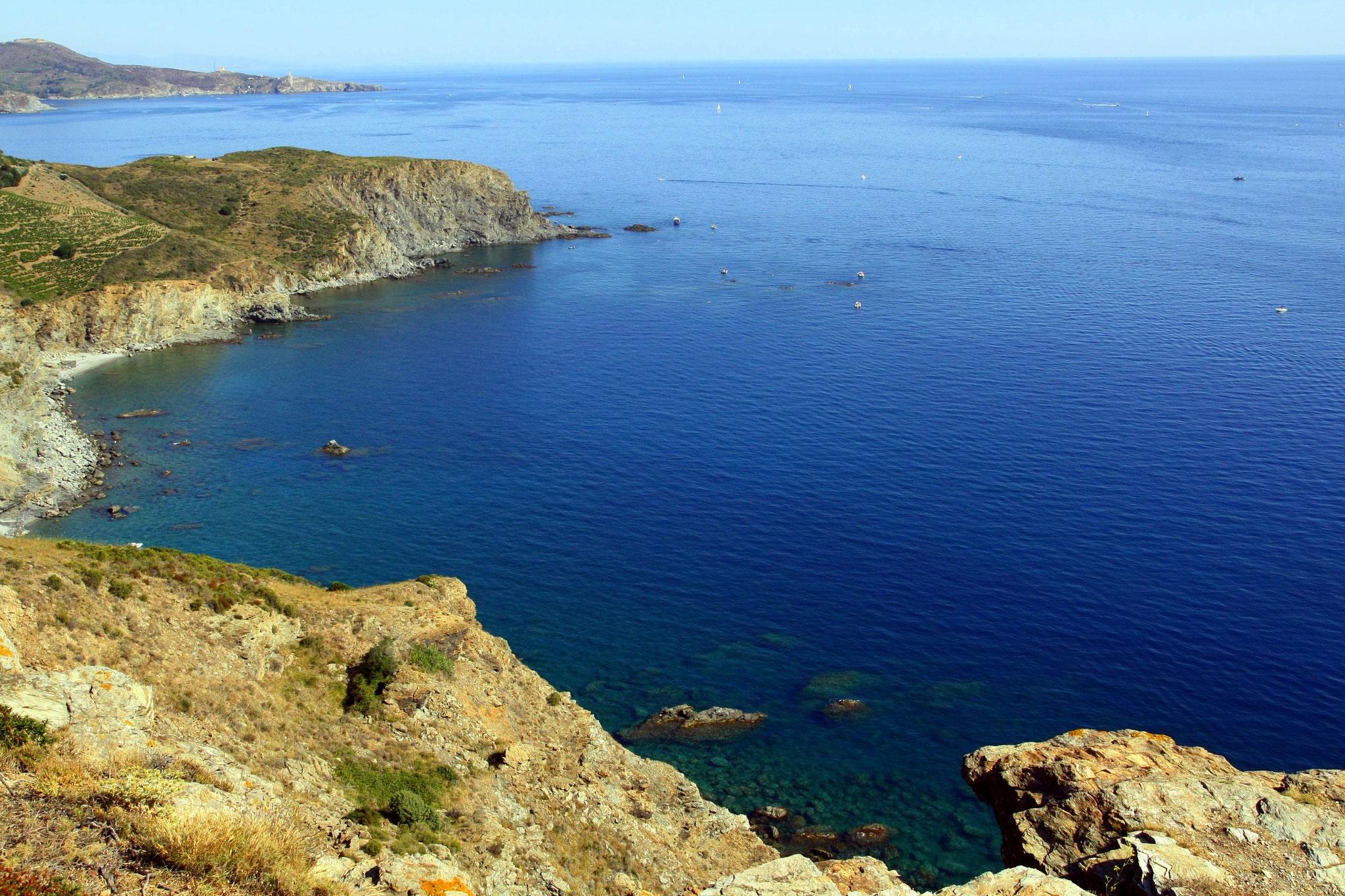 La côte Vermeille (Collioure, Port-Vendres, Banyuls, Cerbère)