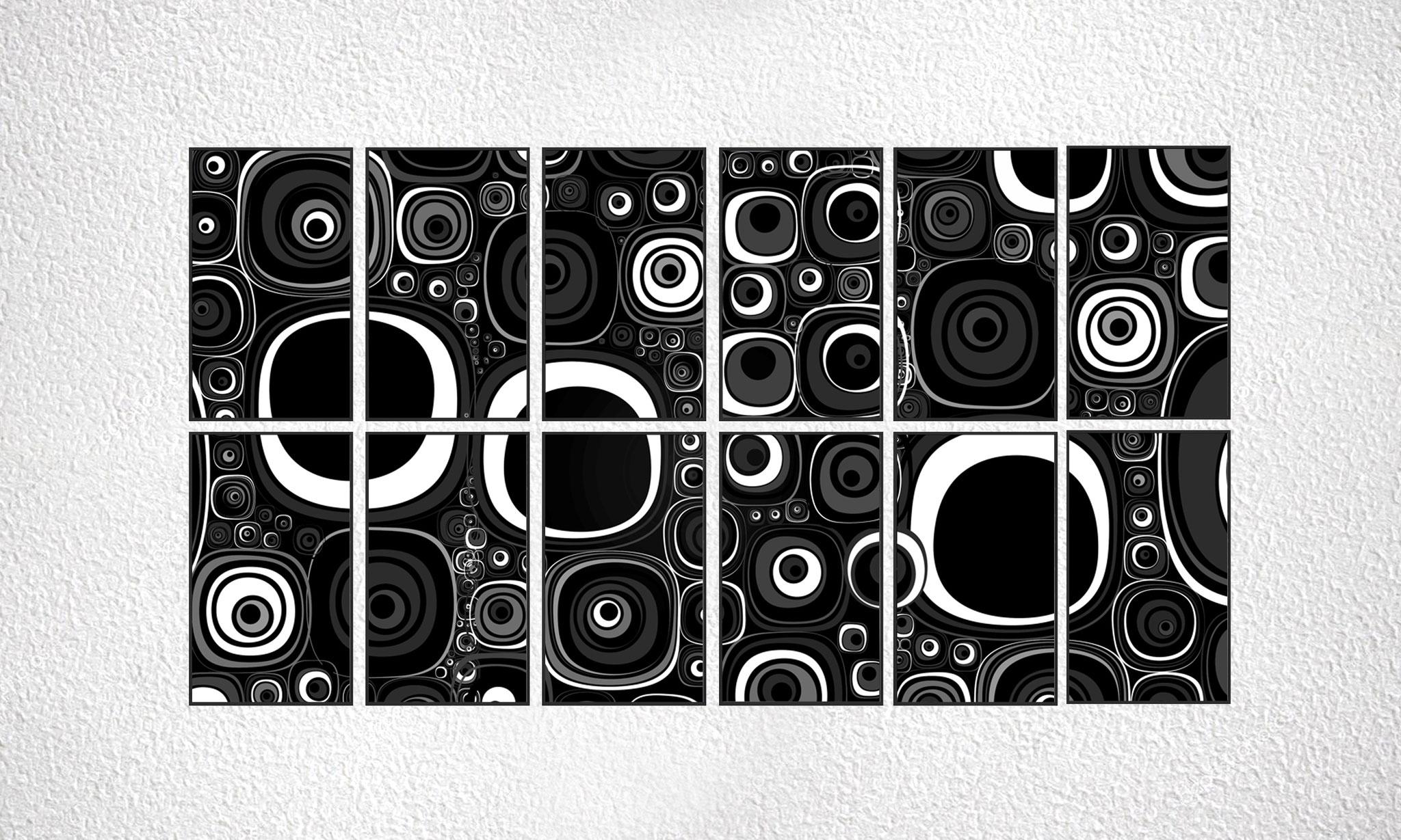 "Composizione ""Eyes"" 12 moduli"