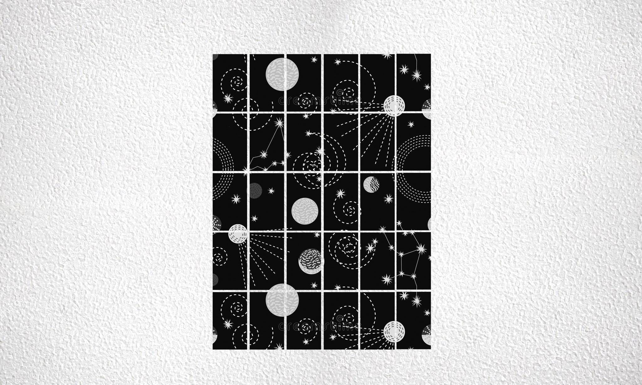 """Composizione """"Planets"""" 30 moduli"""