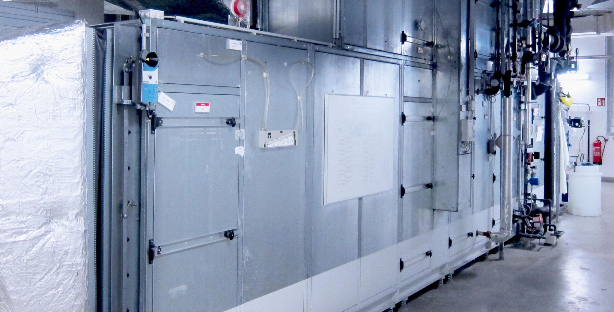 Hygieneinspektionen von RLT-Anlagen