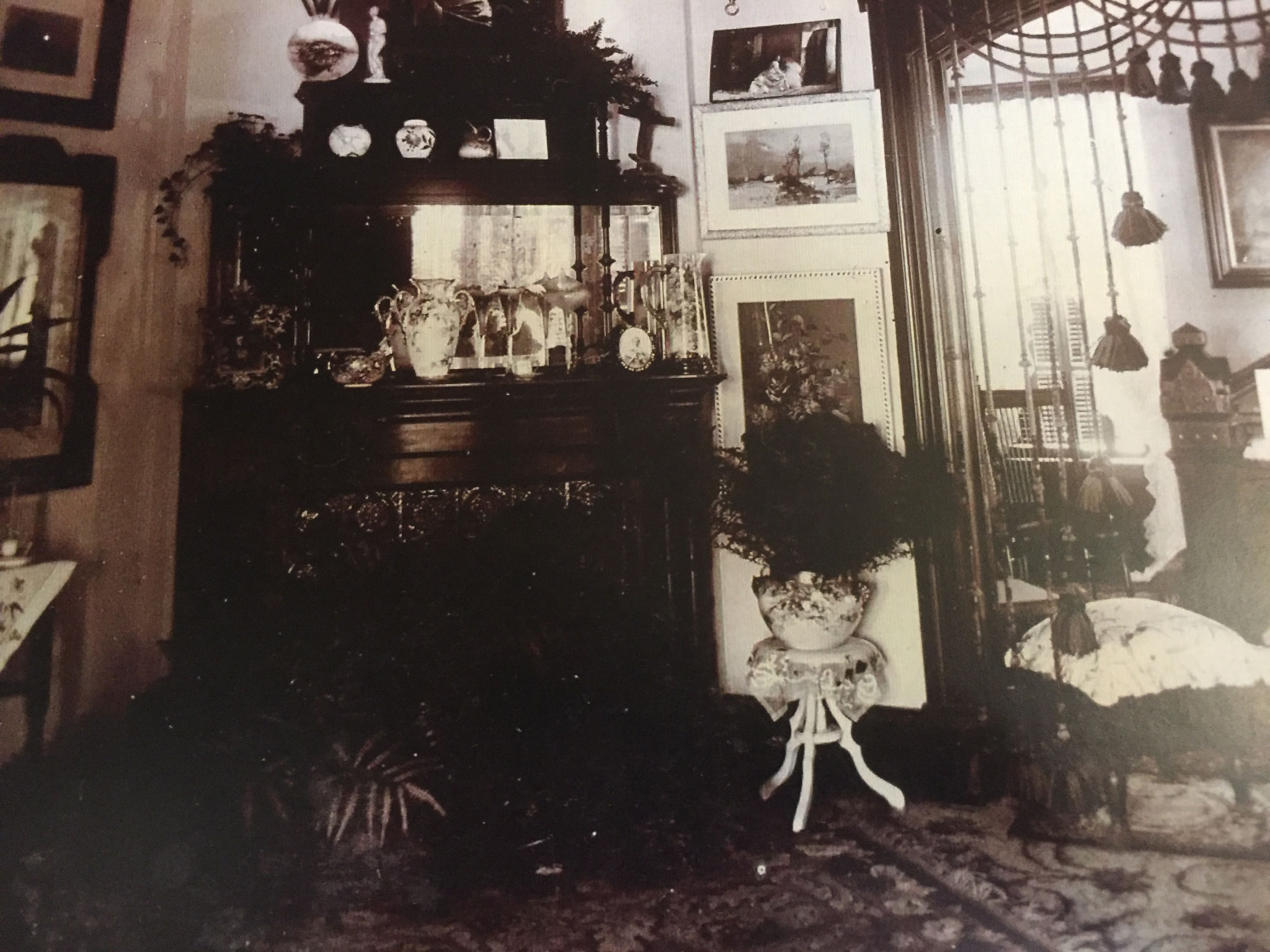 Bailey House interior late 19th century