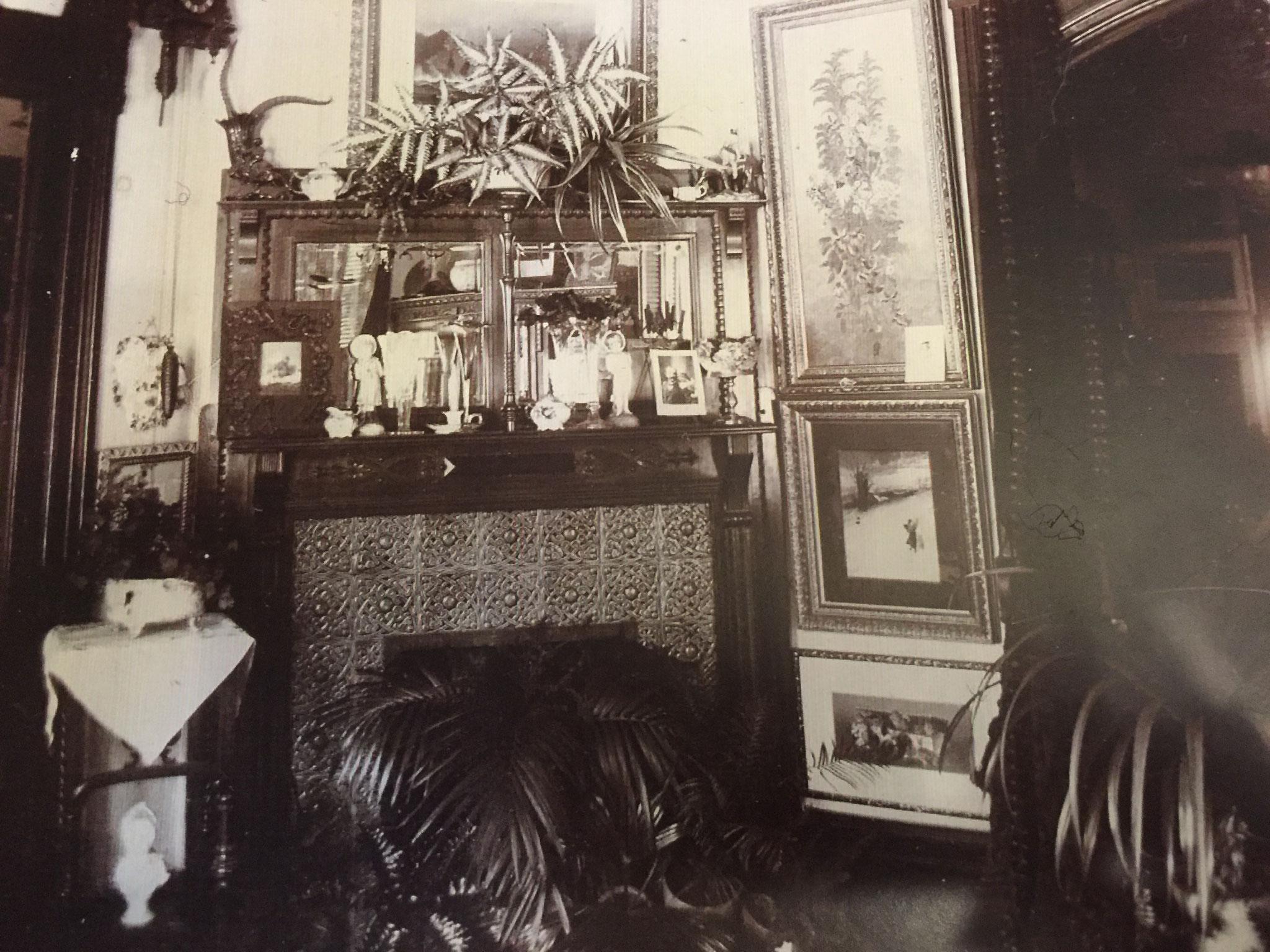 Bailey House interior late 19th century