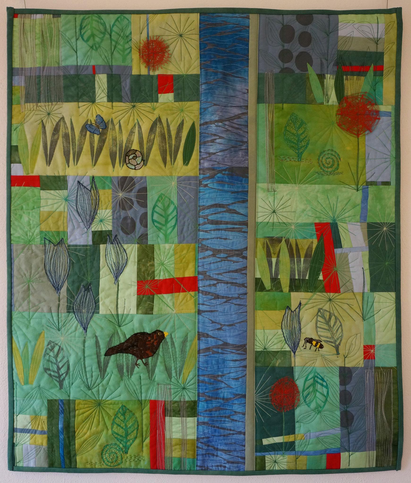 Garten - 86 x 73 cm