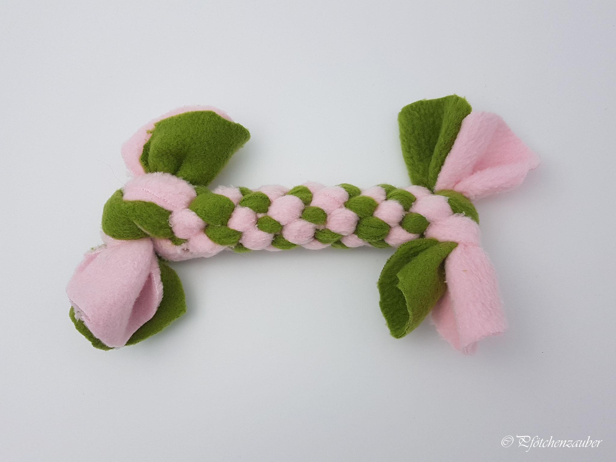 Zergel für extra kleine Hunde/ Welpen, bitte zwei bis vier Fleecestoff- Farben auswählen!