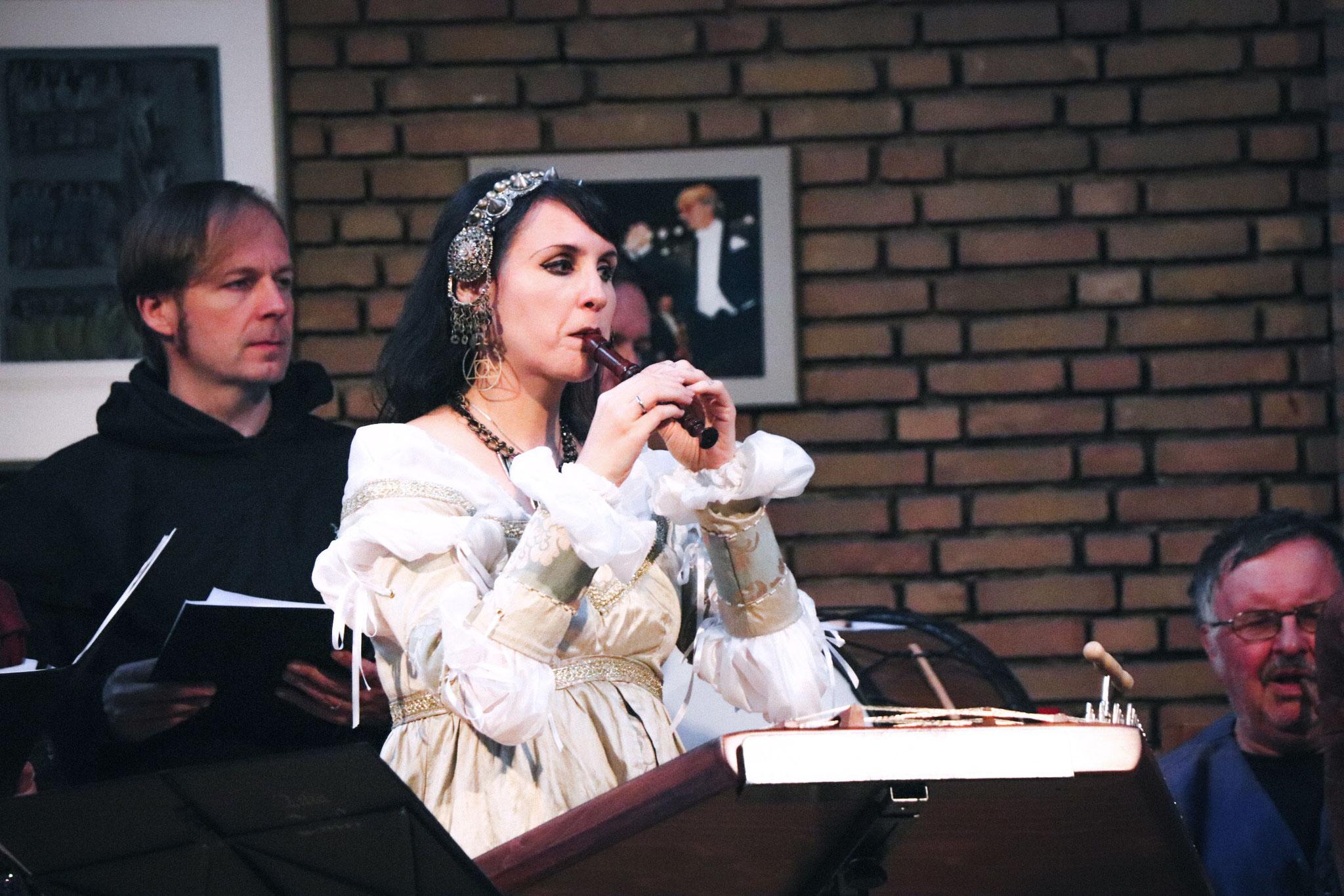 Violetta & Lilia caeli in der Erlöserkirche, Marl, September 2018 | Inge Pietsch