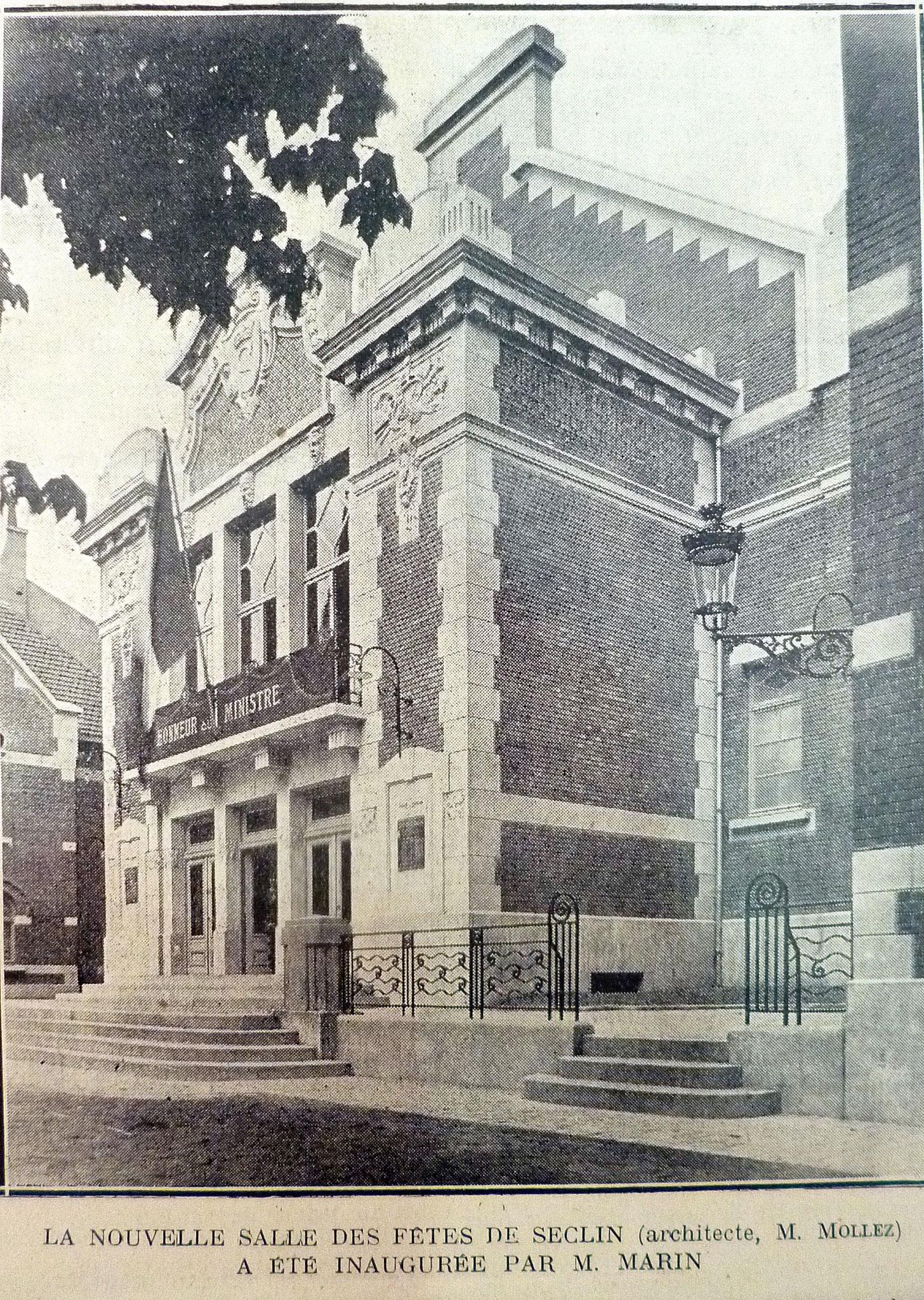"""Photo extraite de """"Le grand hebdomadaire illustré"""" 26 Août 1928"""