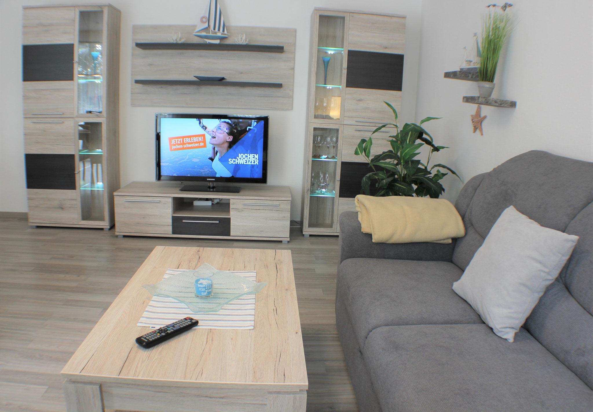 Wohnbereich mit Sat TV