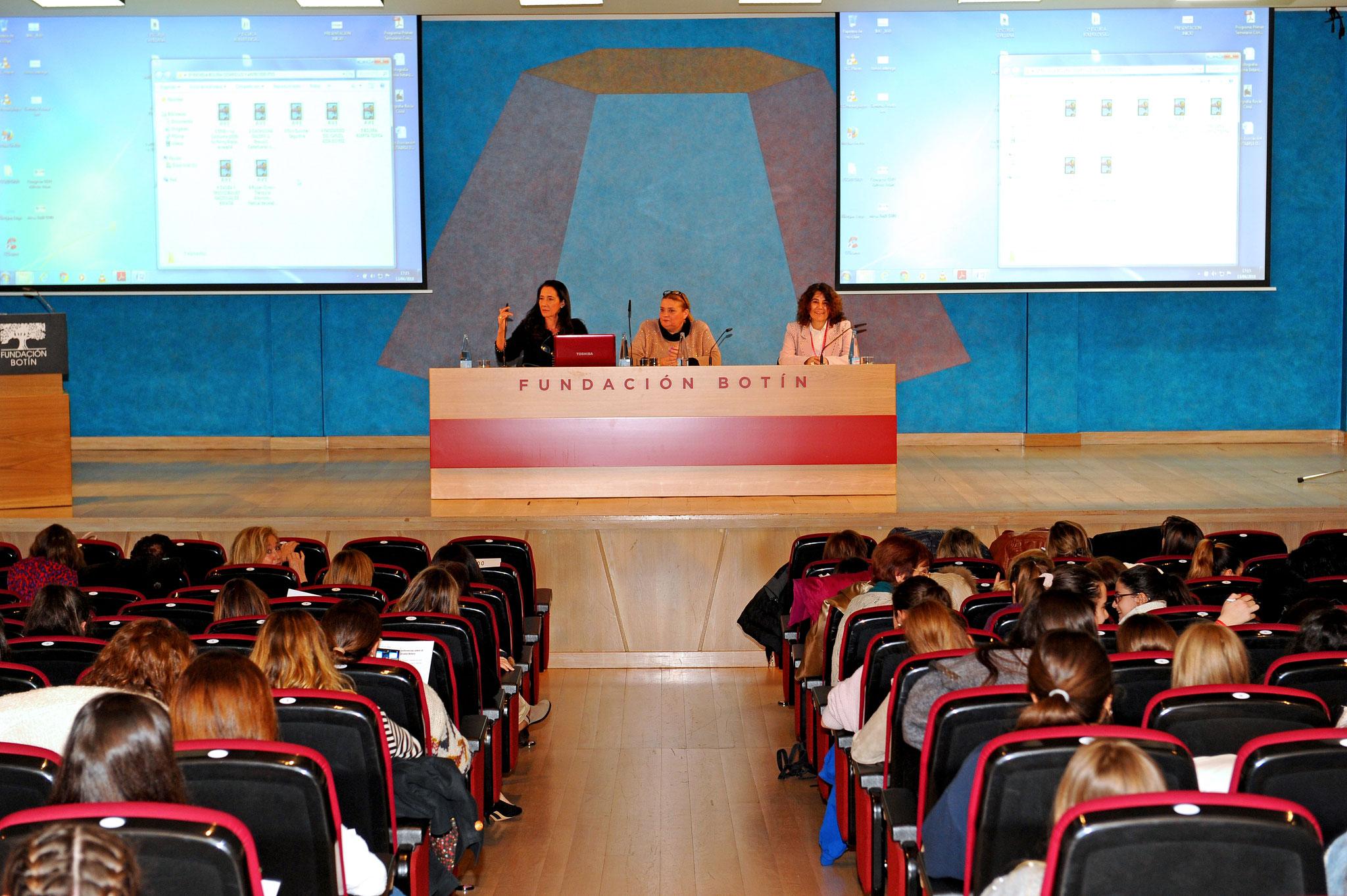 En plena Sesión