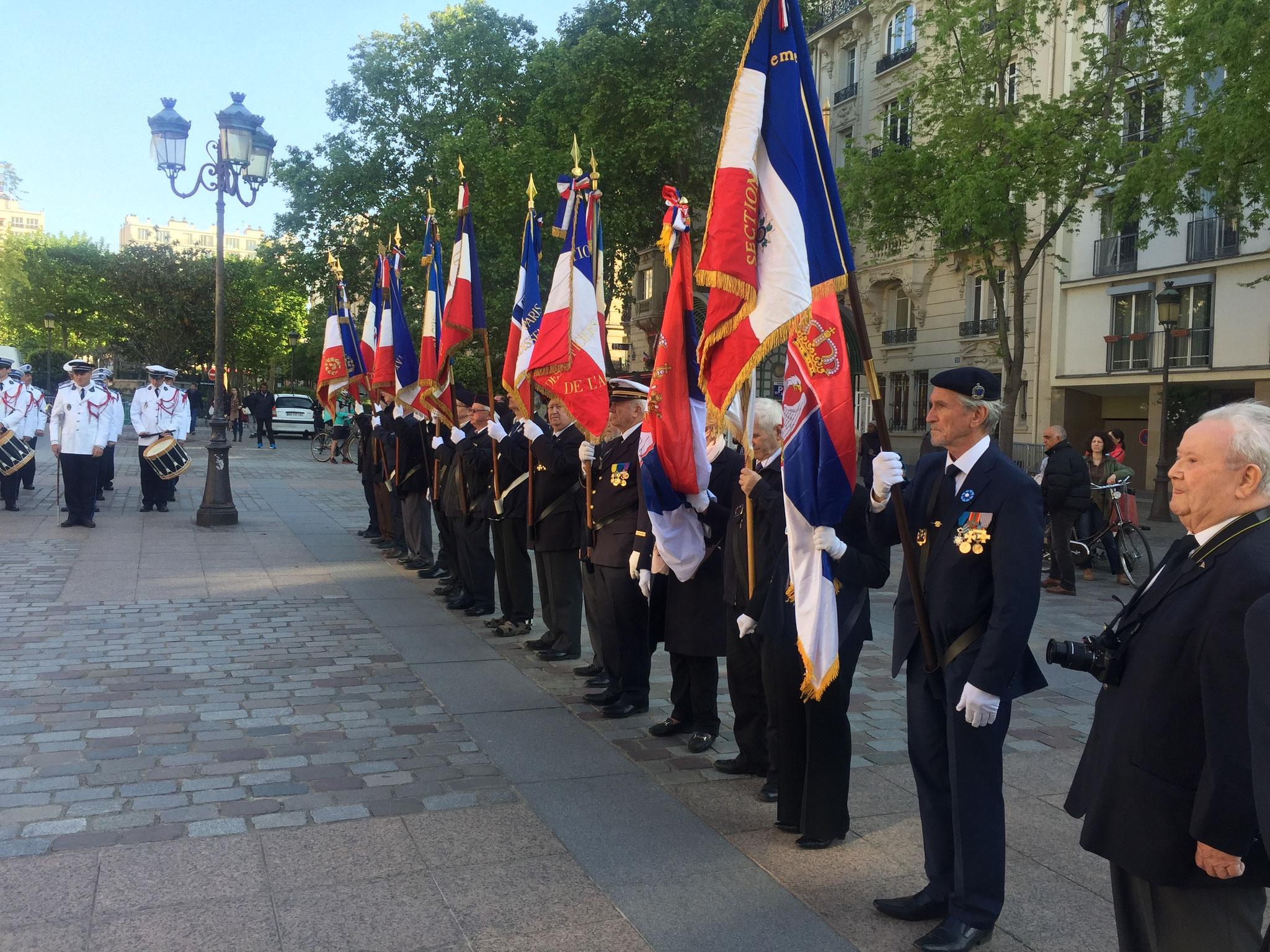 Commémoration du 8 Mai à la Mairie du 15è - Respects à ceux qui se sont battus pour la CULTURE FRANÇAISE