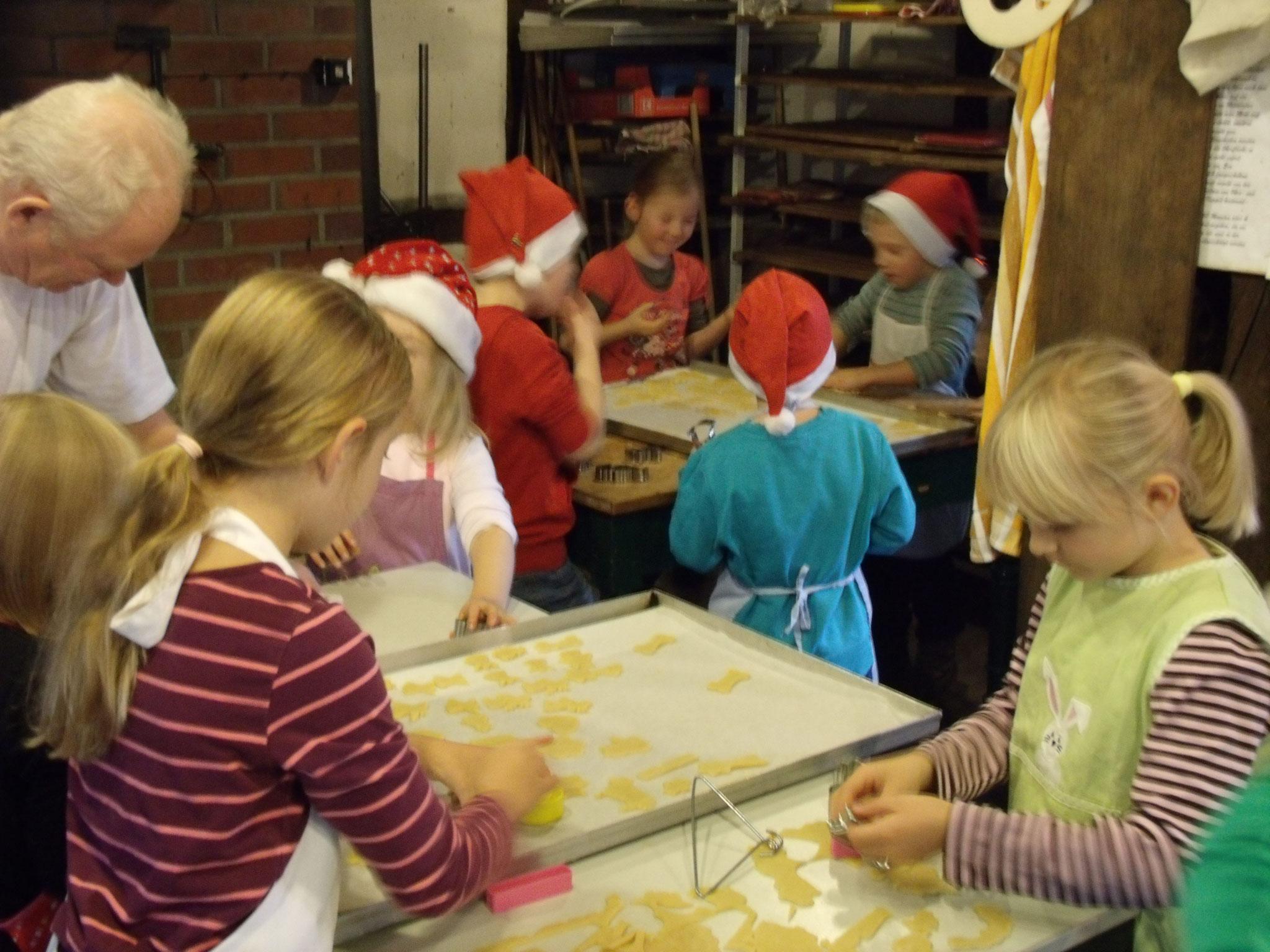 Kekse backen auf Gut Varrel