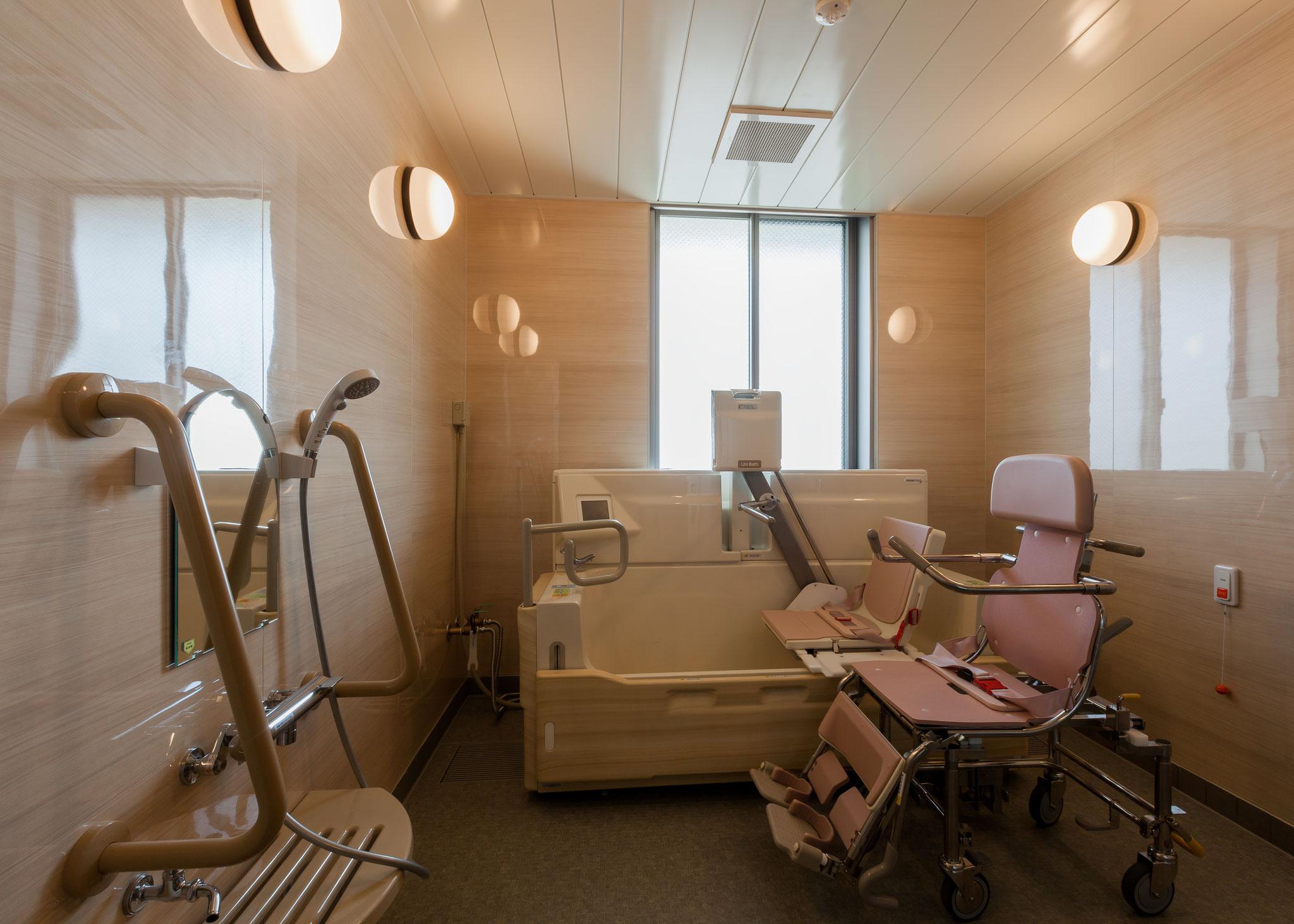 ショート専用機械浴室