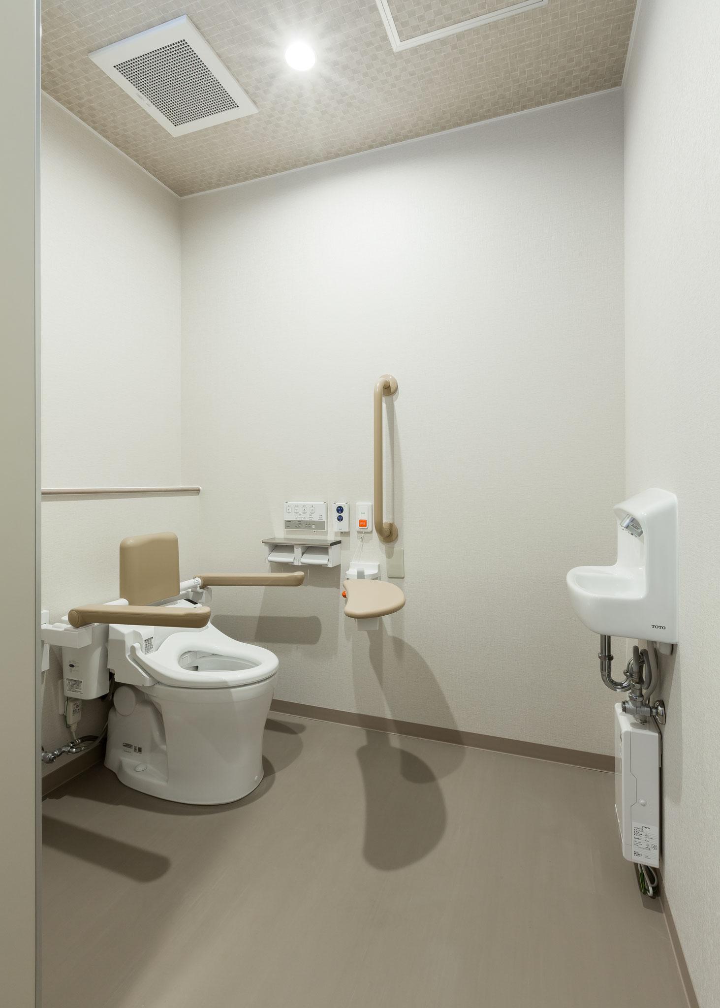 ショート専用トイレ
