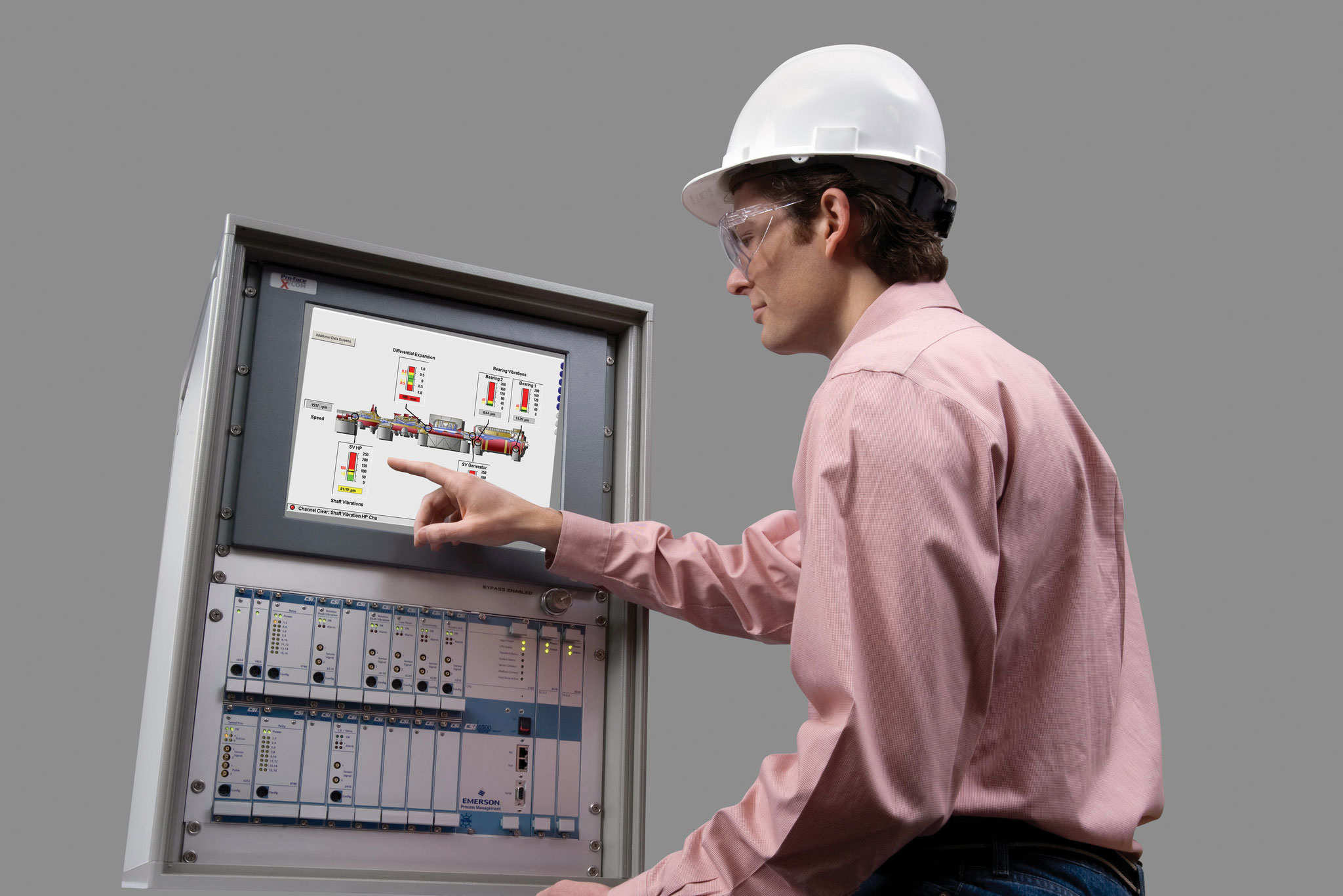 CSI 6500: Online-Schwingungsüberwachungssystem