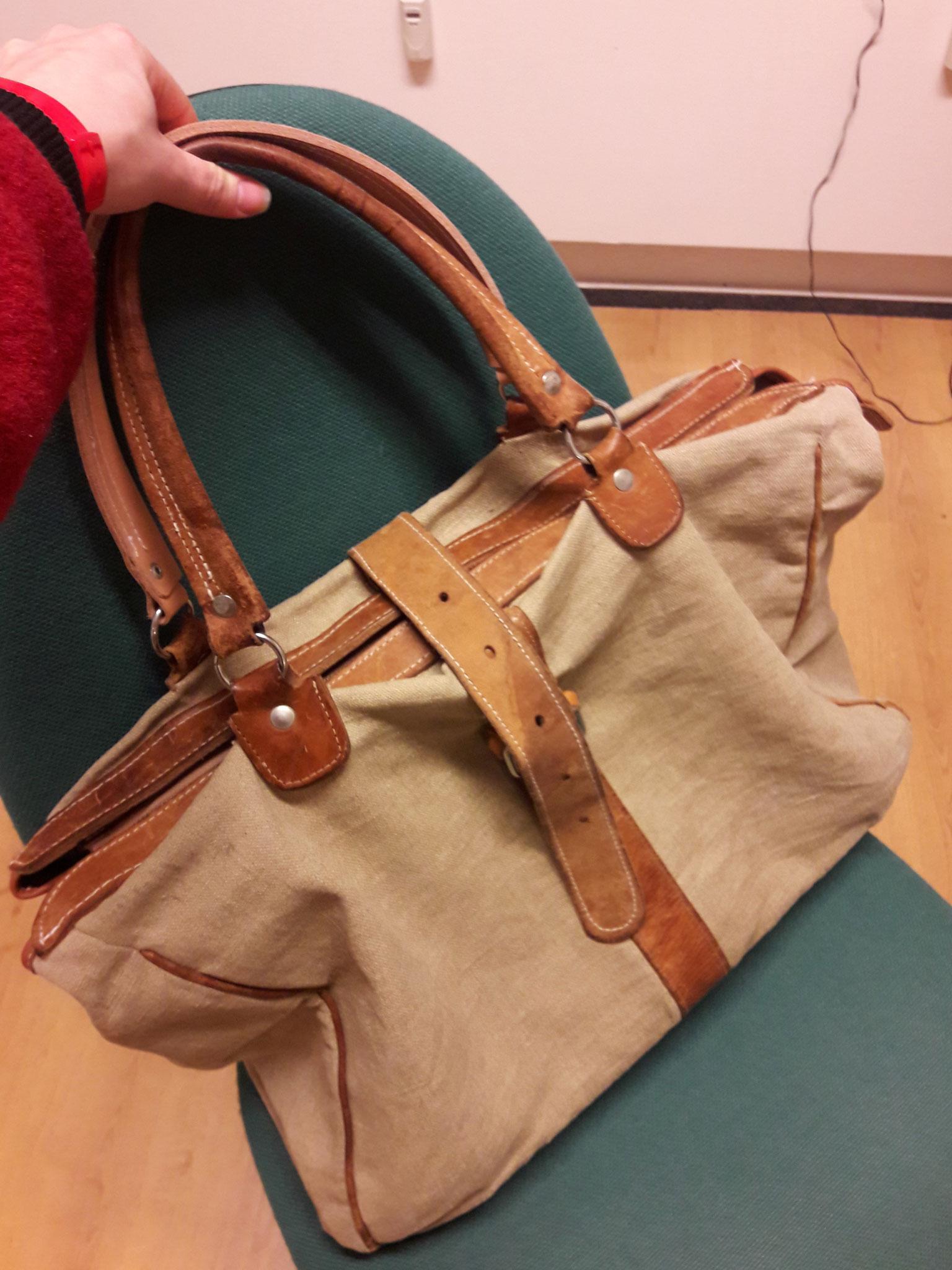 Komplettrestauration einer Reisetasche
