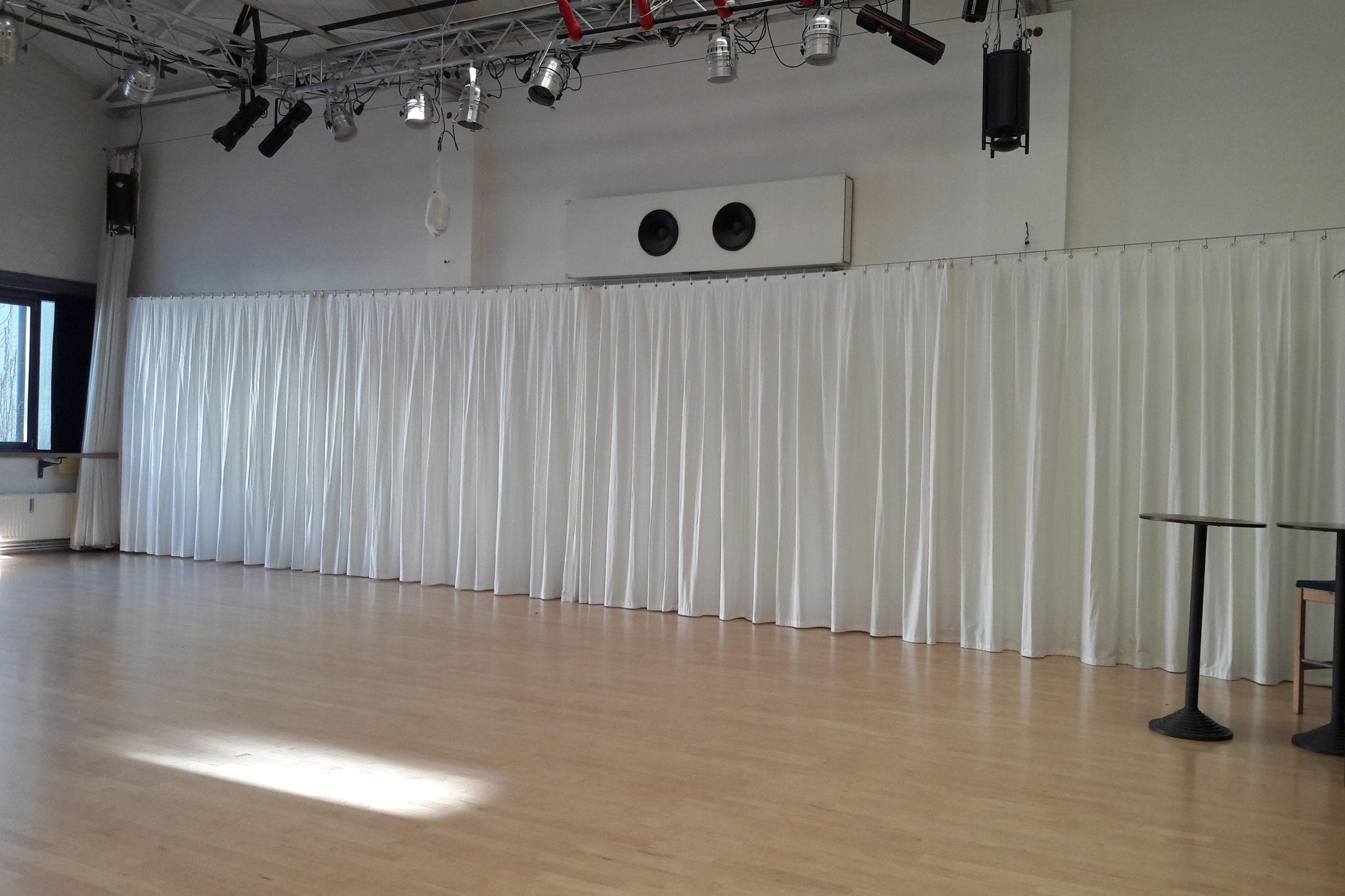 Spiegelvorhänge - Billie's Tanzstudio -