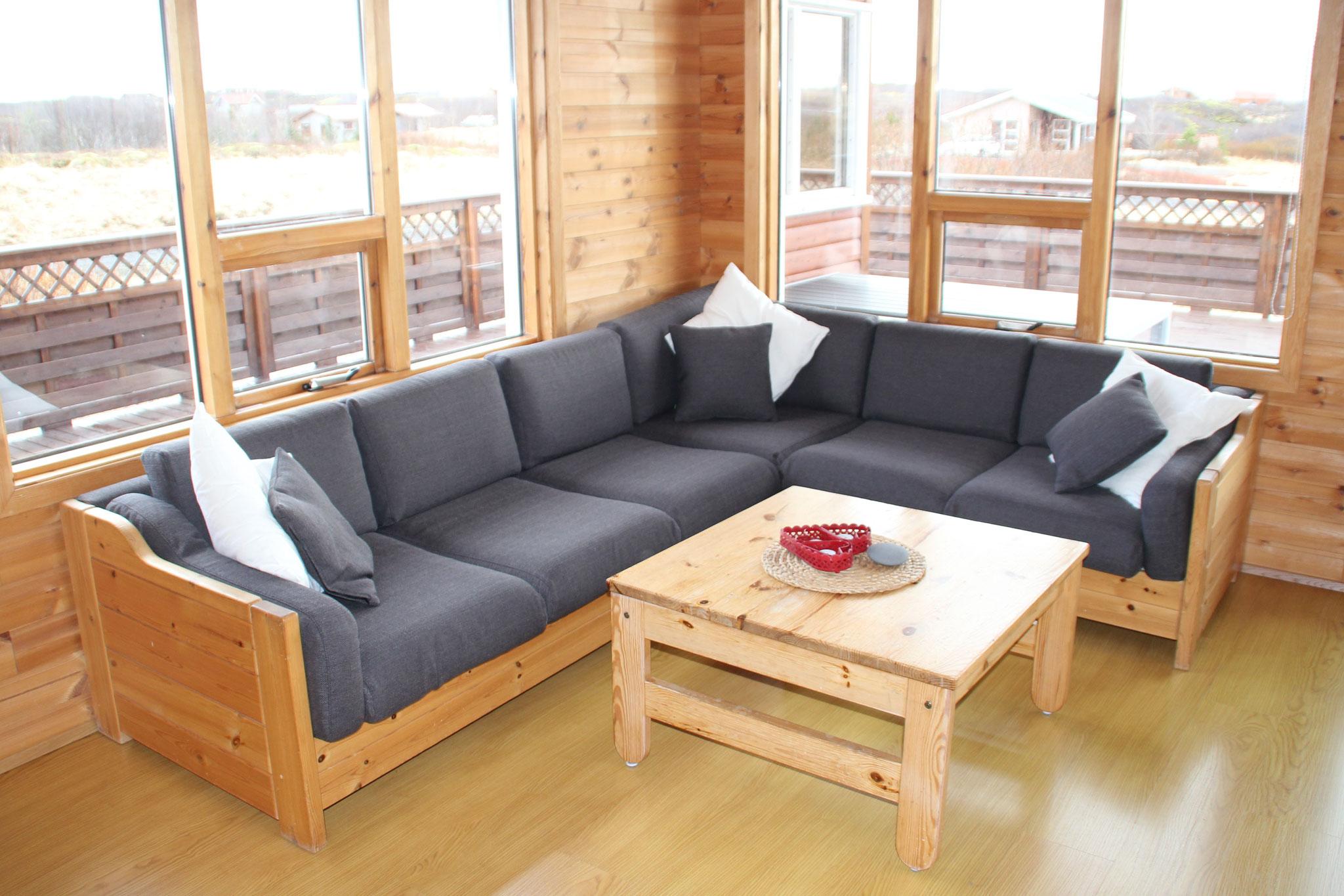 Restauration eines Sofas