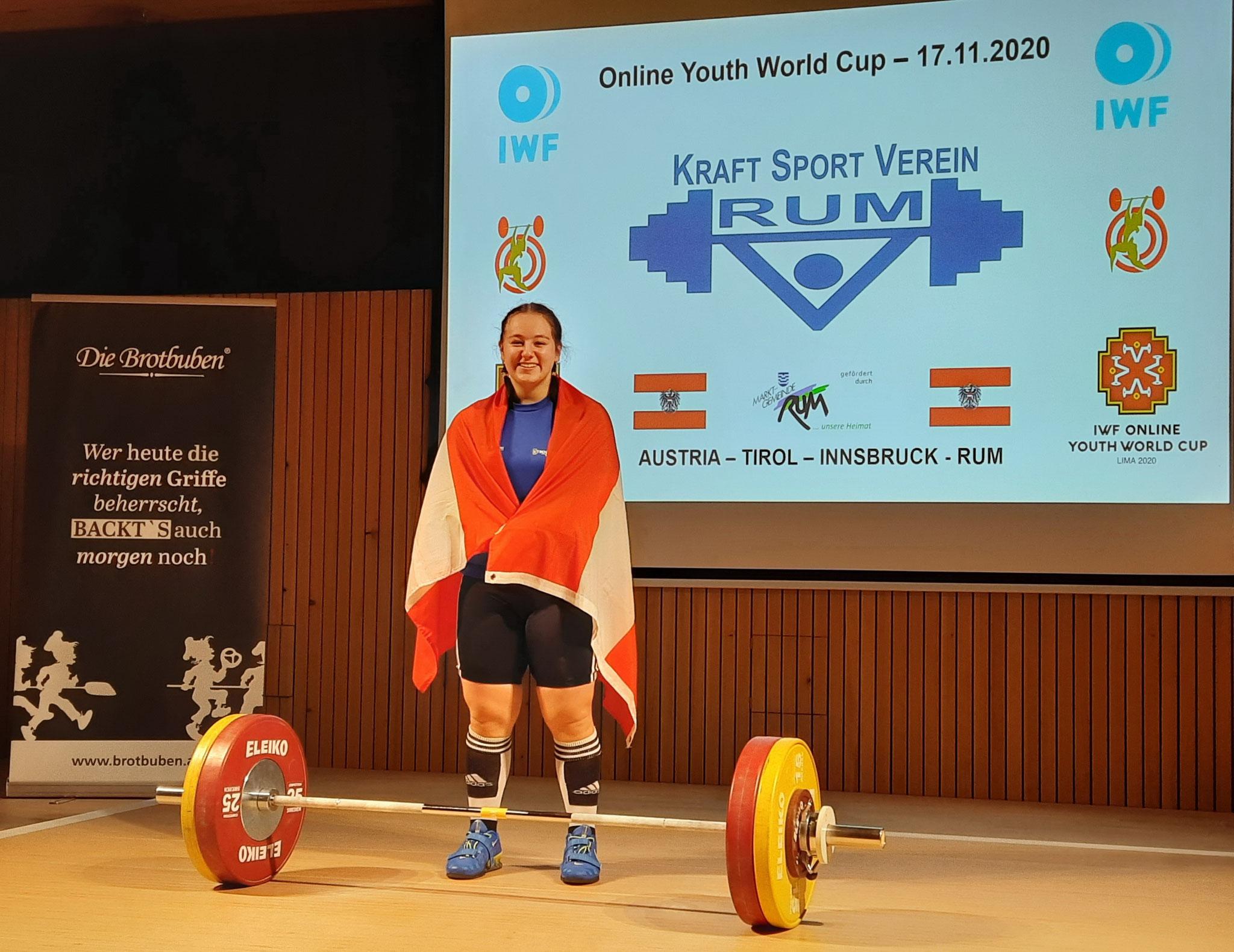 17.11.2020 - U 17 - Online-WM - 3 x Bronze für Victoria Steiner