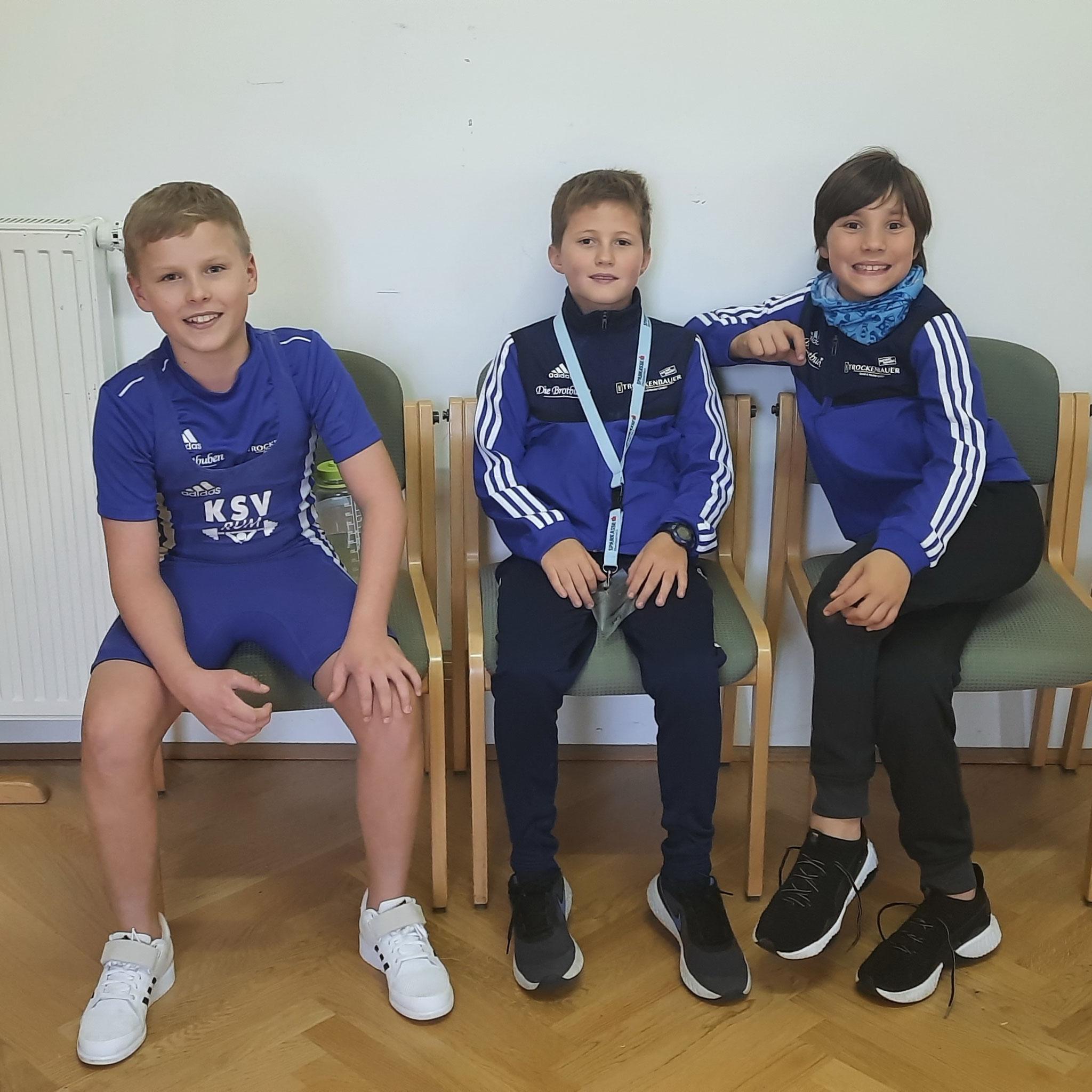 24.10.2020 - Gold und 2 x Silber für die KSV-Jung´s bei der österr. Schülermeisterschaft