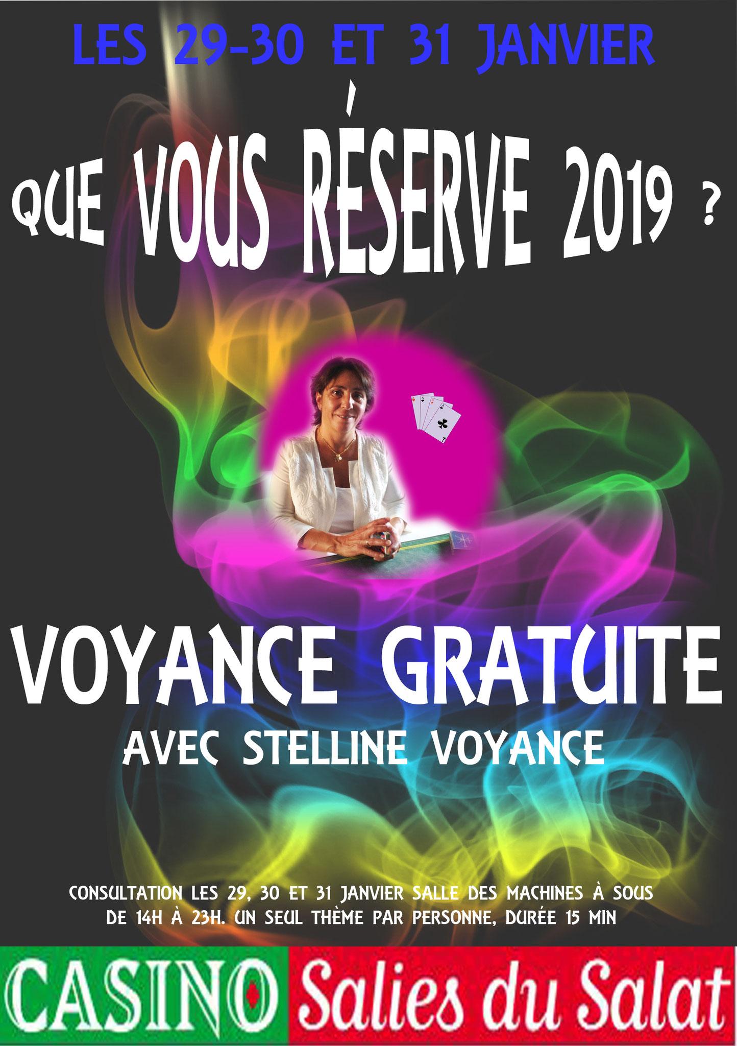 Stelline au Casino Salies du Salat le 29 30 31 janvier 2019