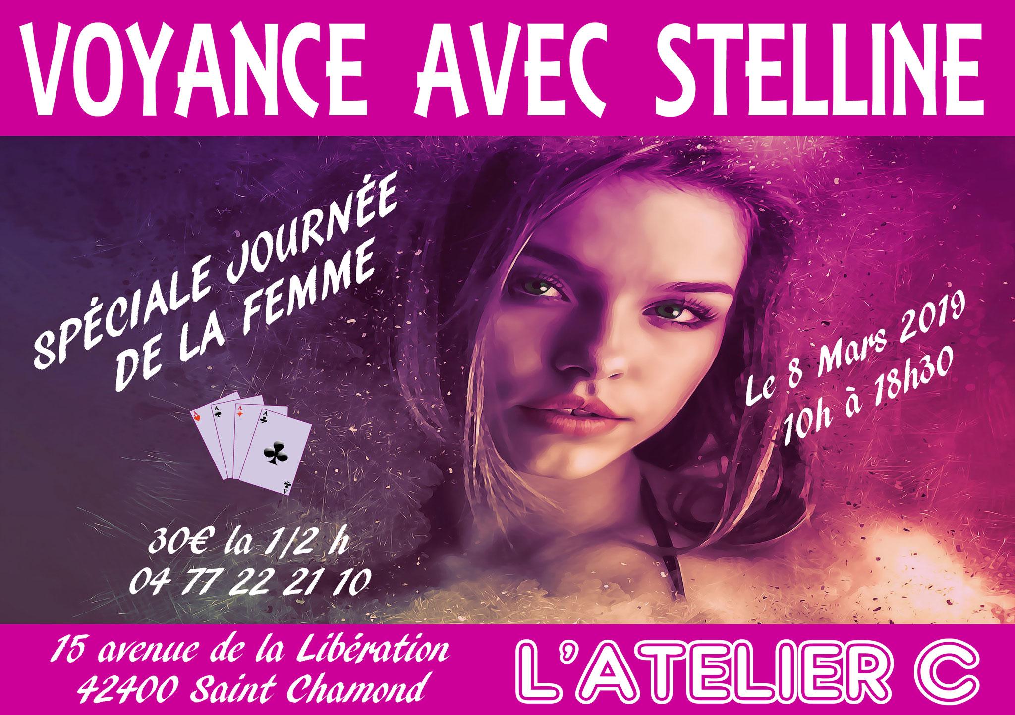 Stelline à L'Atelier C à St Chamond le 8 mars 2019