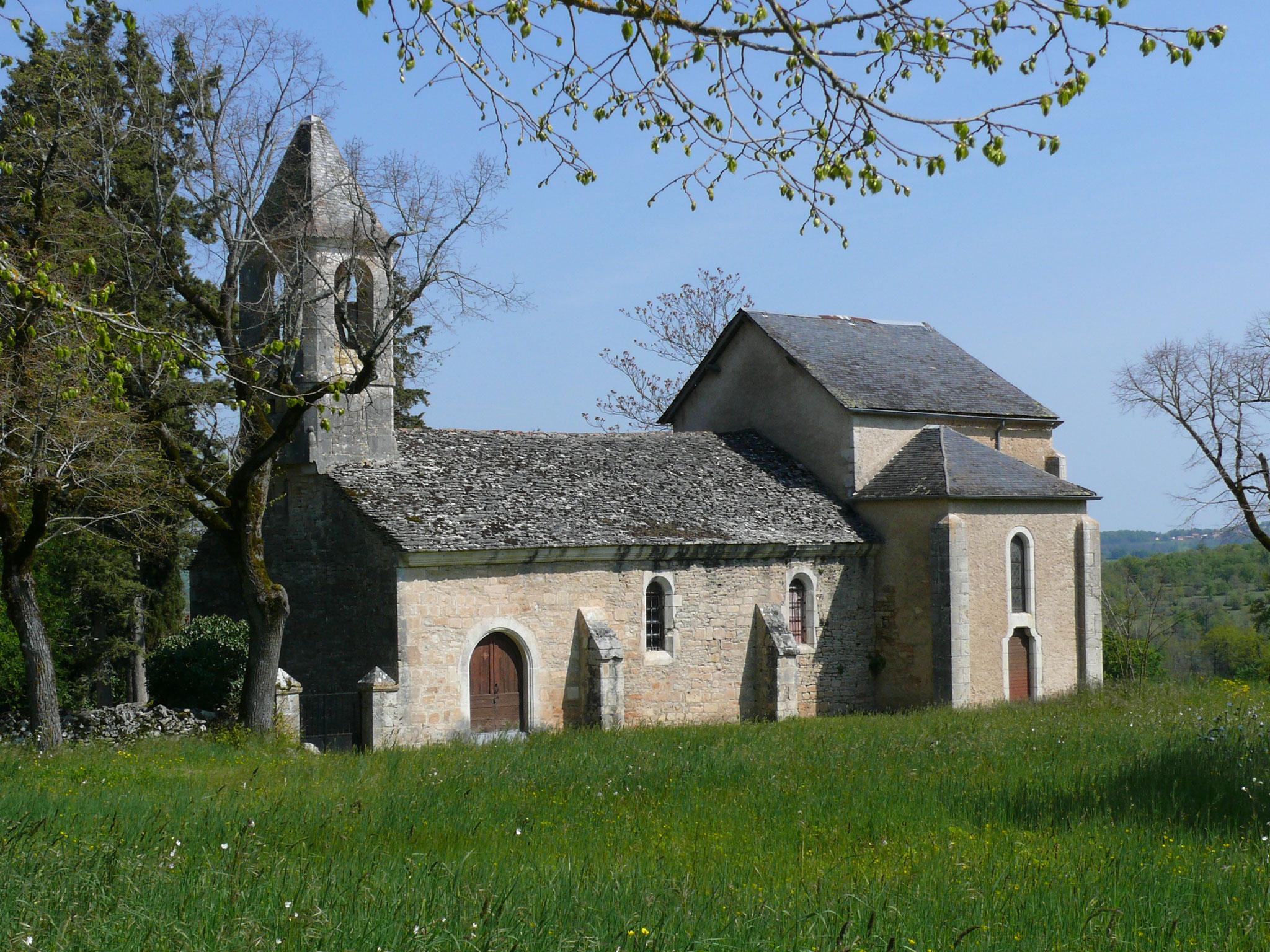 la chapelle du château de la Pannonie
