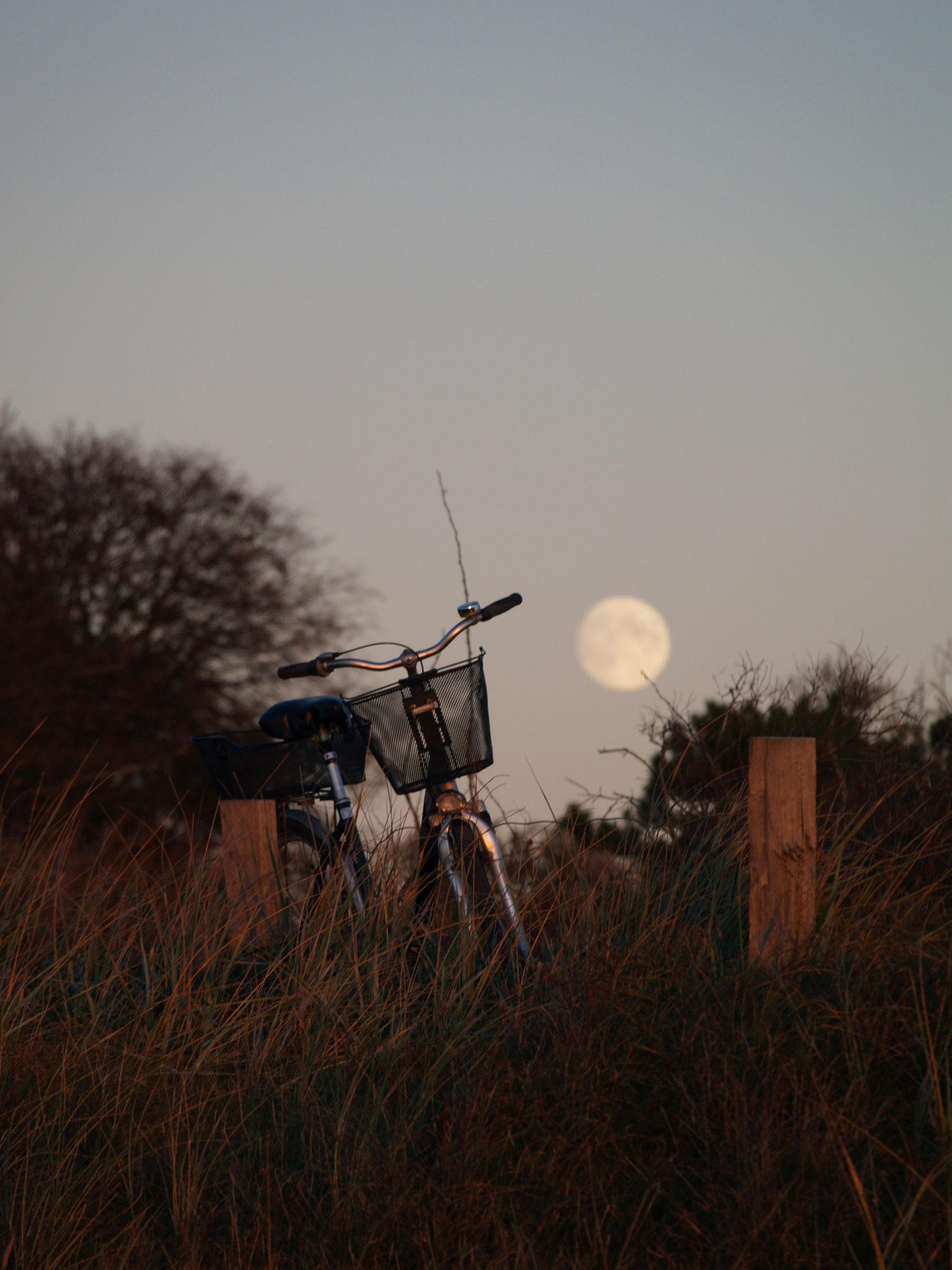 Fahrradtour am Abend