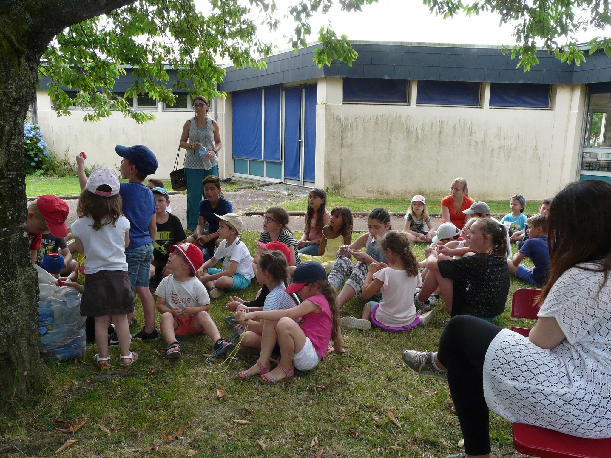 Après-midi détente avec les enfants