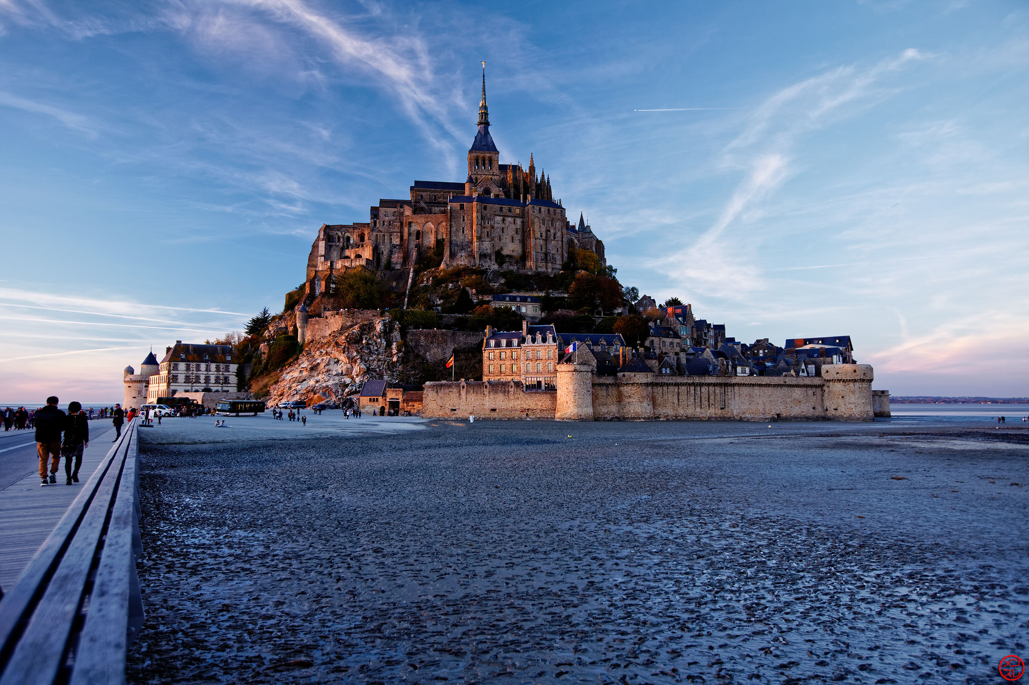 Mont Saint-Michel, France, Octobre 2016