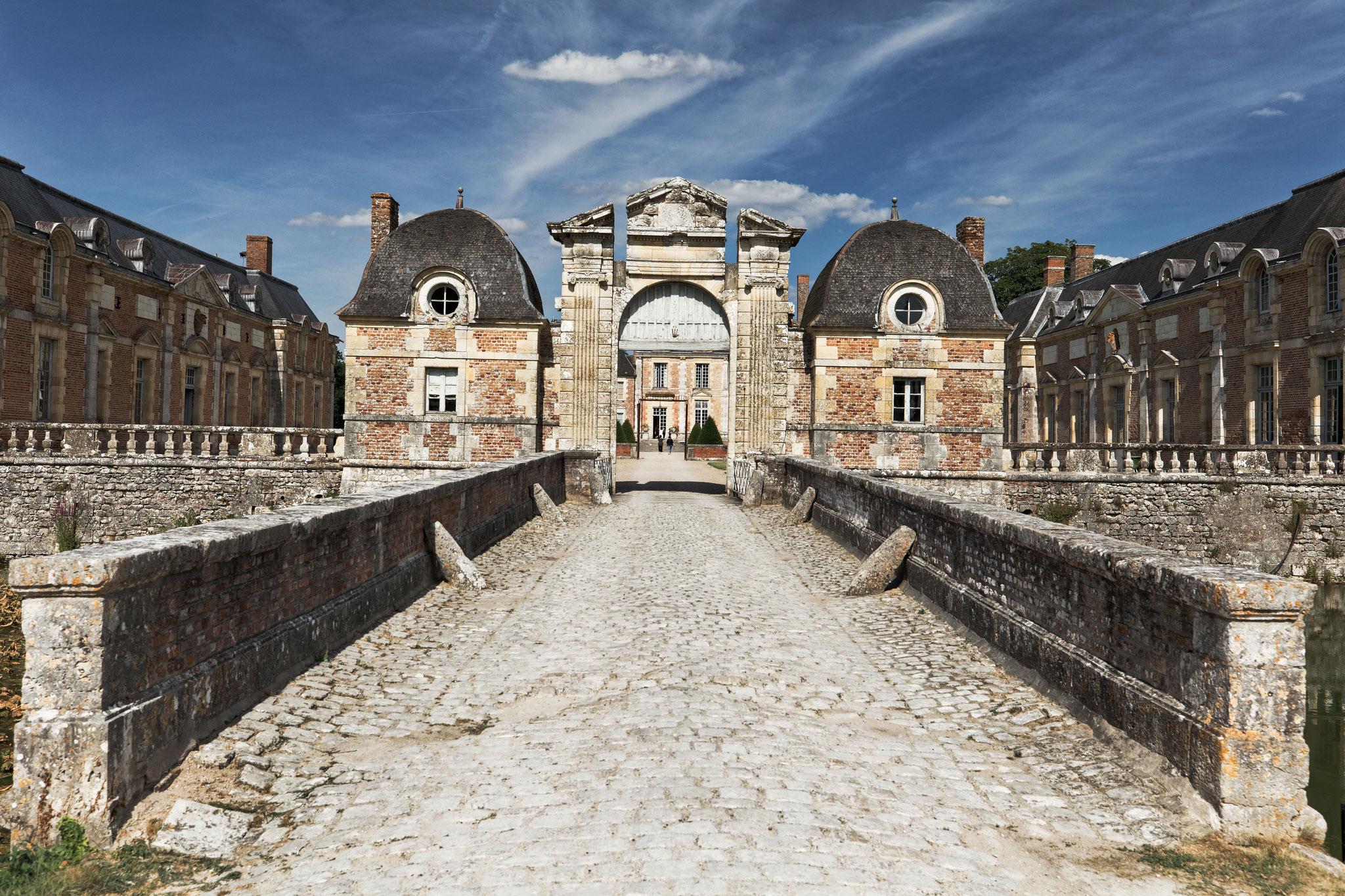 château de la Ferté Saint-Aubin, juillet 2019