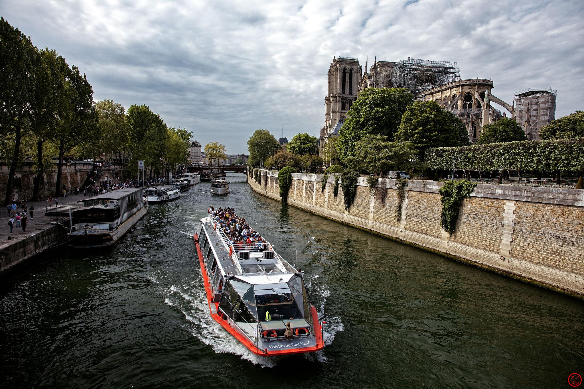 Notre-Dame de Paris, 22 avril 2019