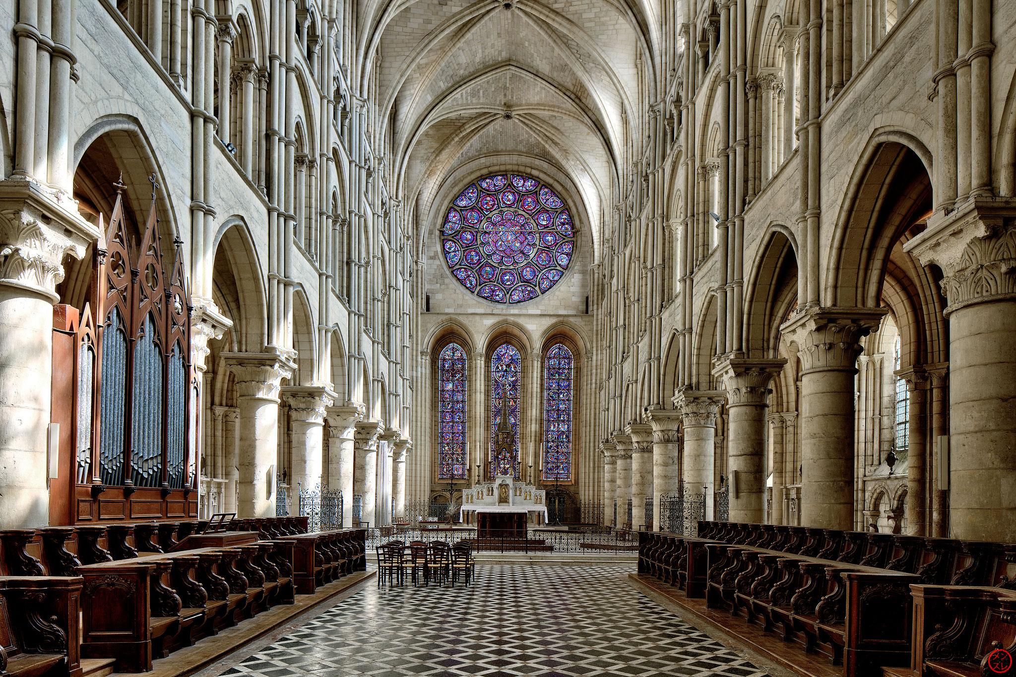 Cathédrale Notre-Dame de Laon, août 2018