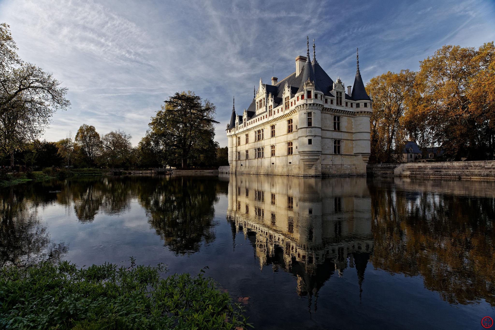 Château d'Azay-le-Rideau, 31 octobre 2017
