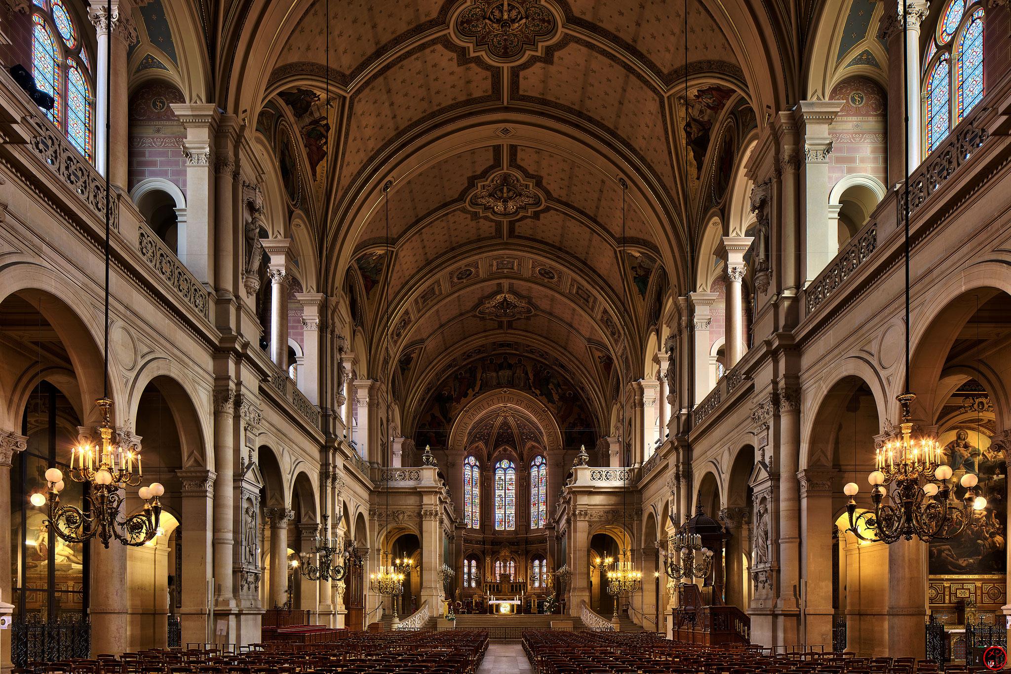 Eglise de la Sainte Trinité, Paris, 30 septembre 2017